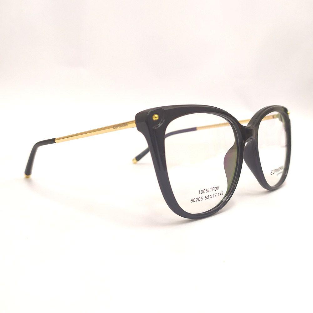 Óculos de Grau Euphoria Preto TR90