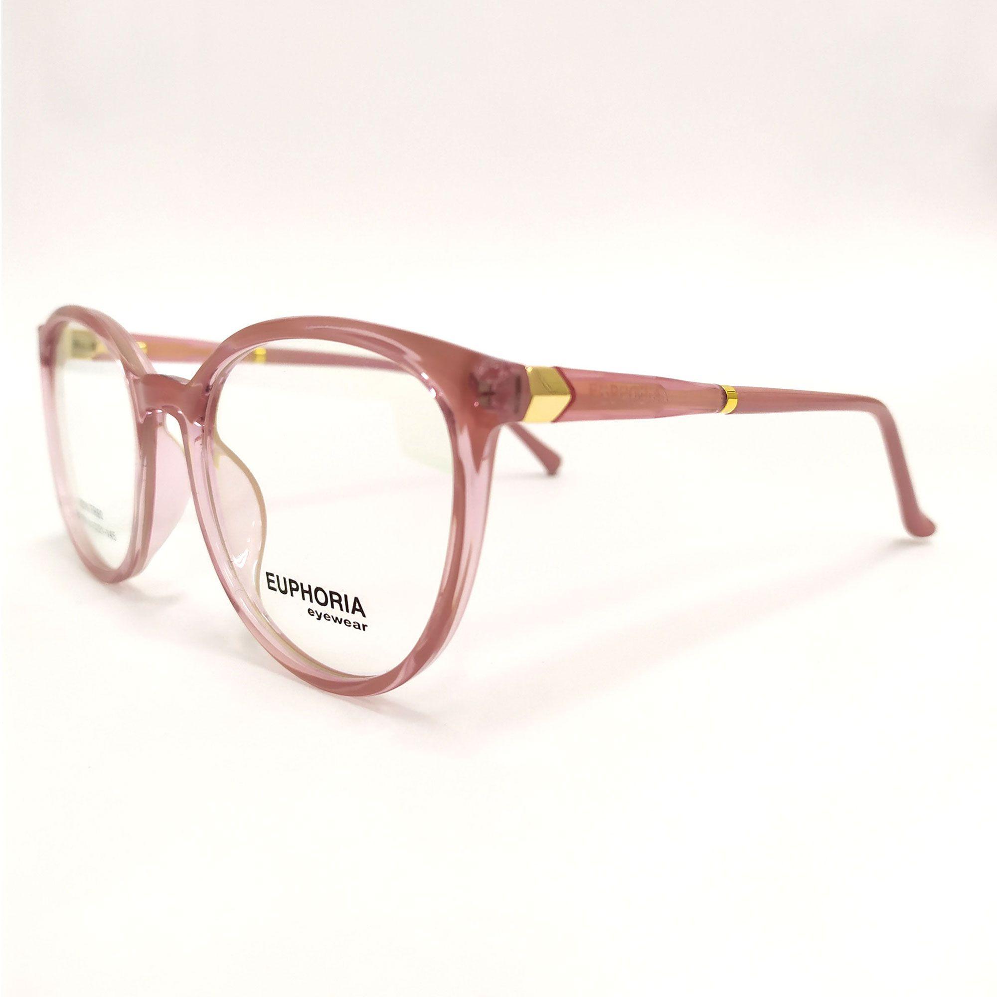 Óculos de Grau Euphoria Rosa 69109 C2