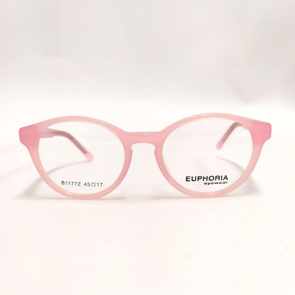 Óculos de Grau Euphoria Rosa B1177Z