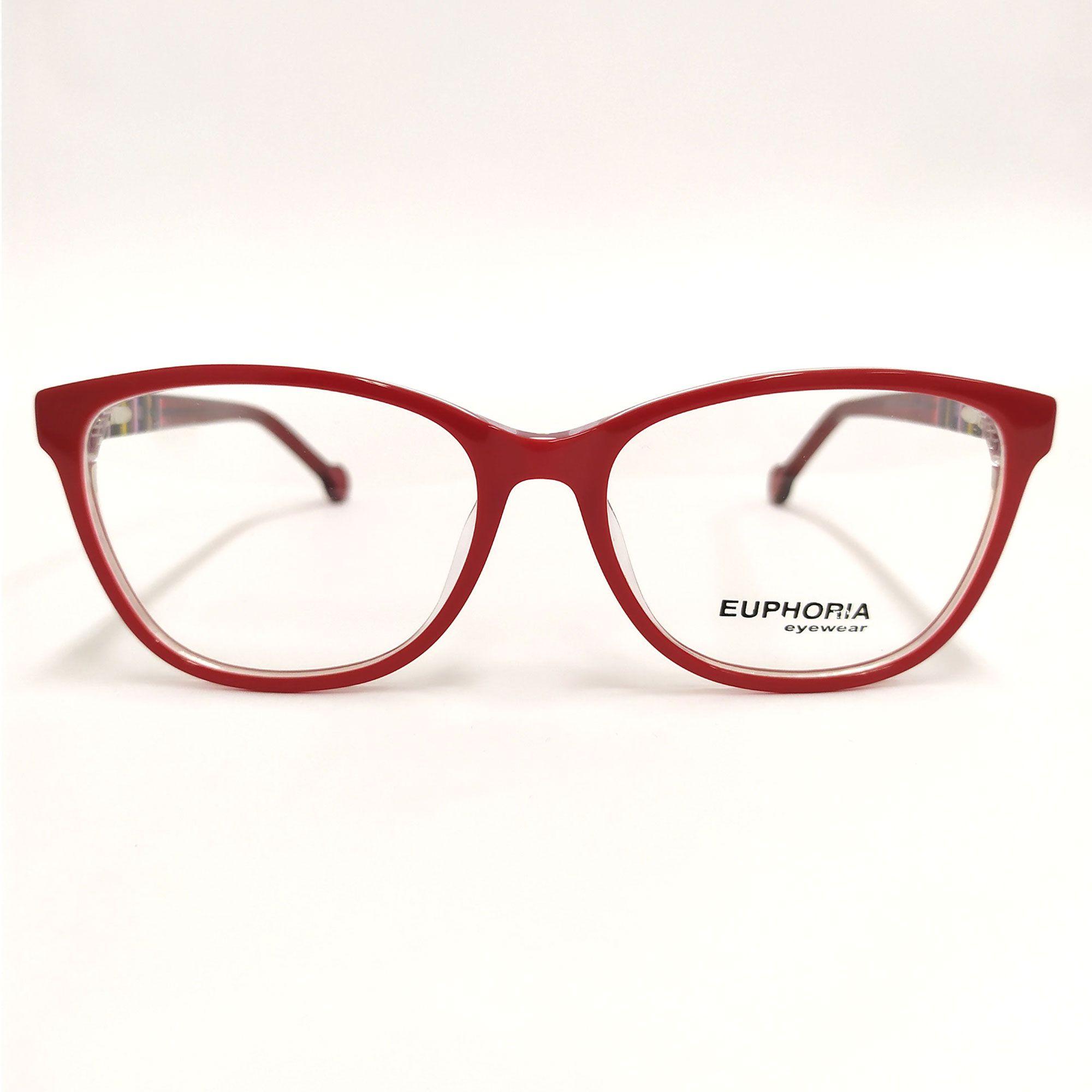 Óculos de Grau Euphoria vermelho BB20331 C8