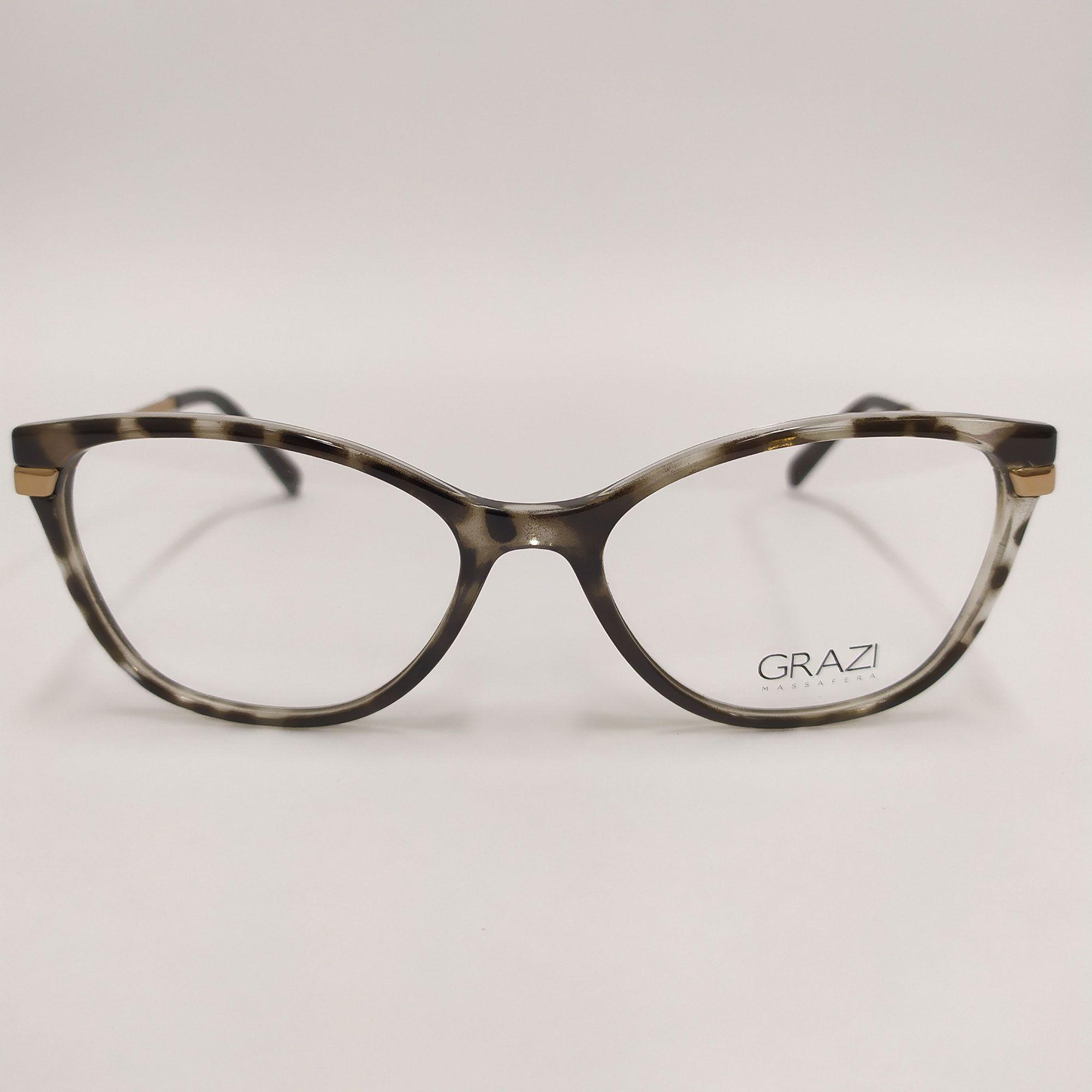 Óculos de Grau Grazi 3056 Tartaruga GZ3056 G083