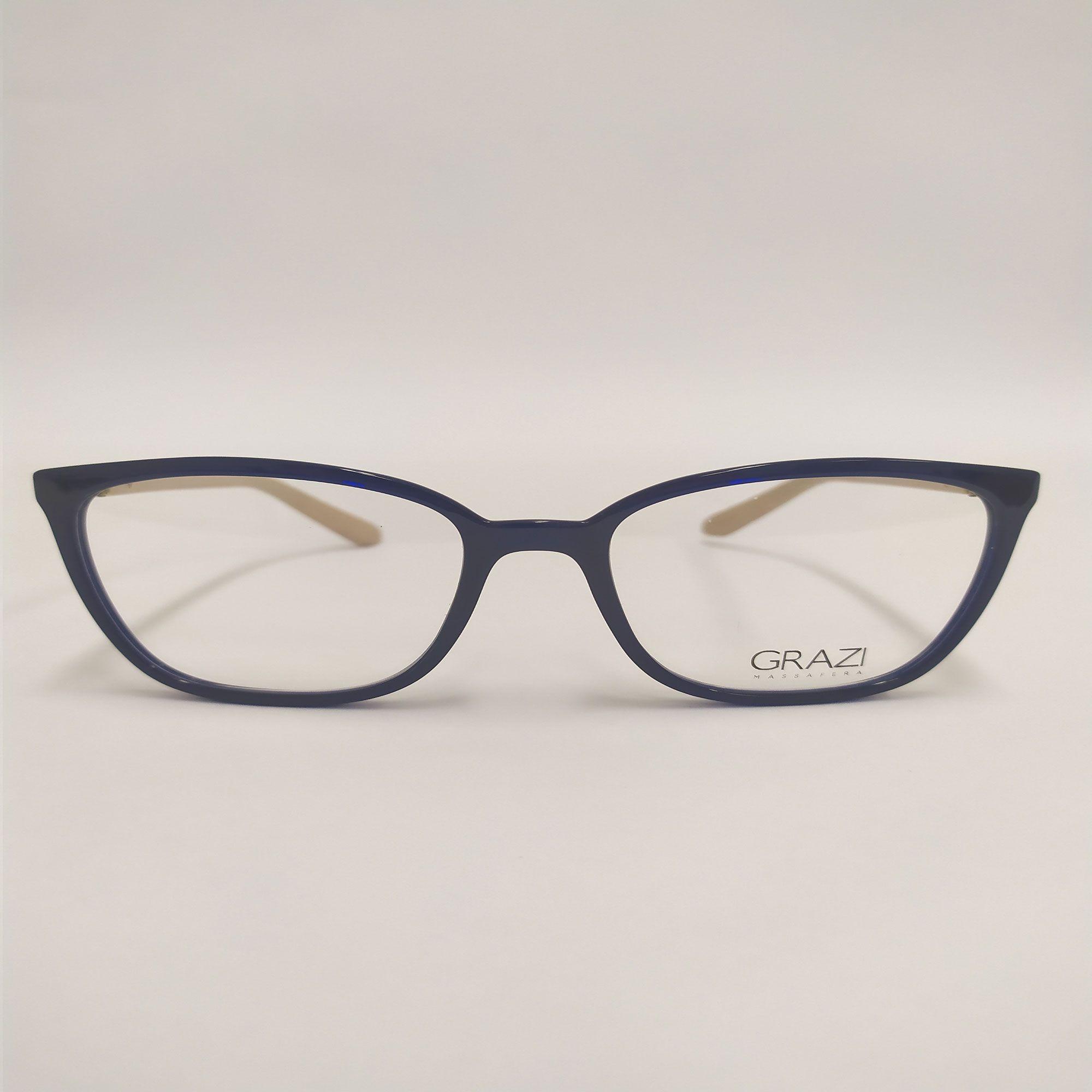 Óculos de Grau Grazi  Azul com Cristais Da SWAROVSKI 3035B F054