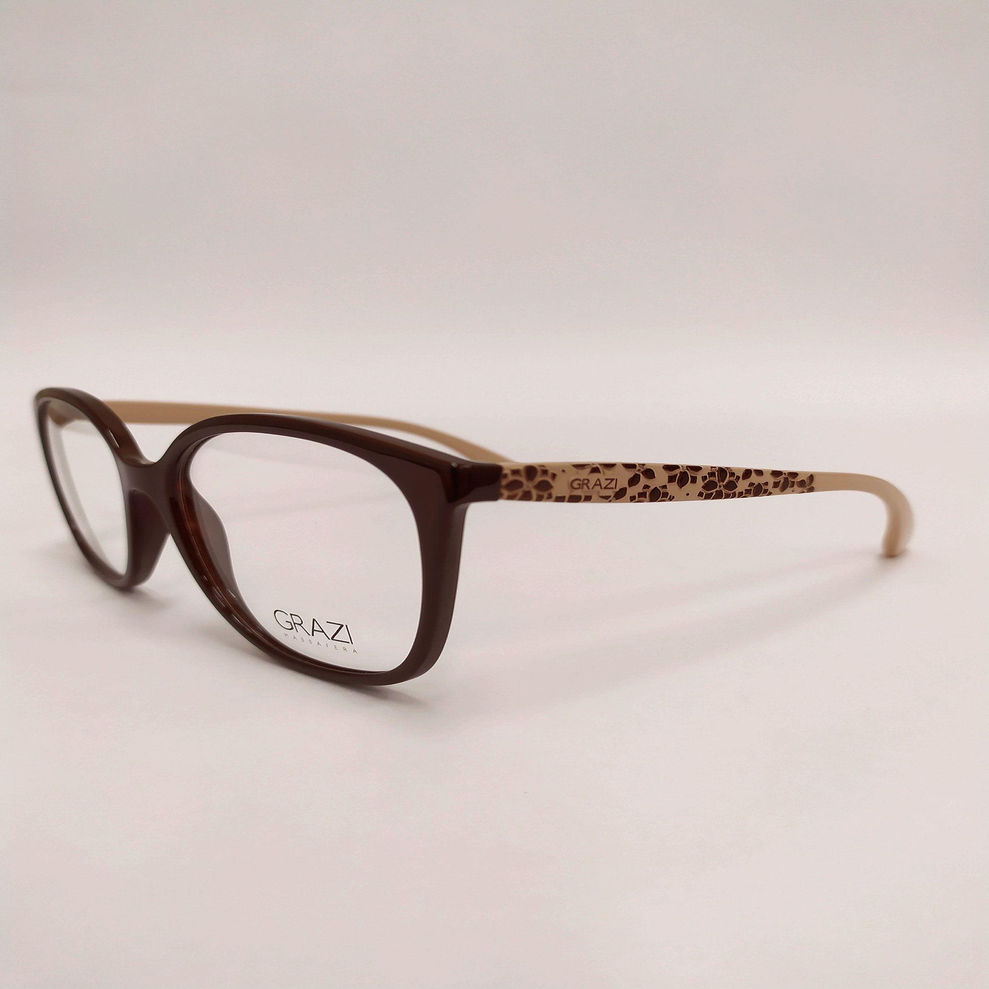 Óculos de Grau Grazi Marrom GZ3046 F698