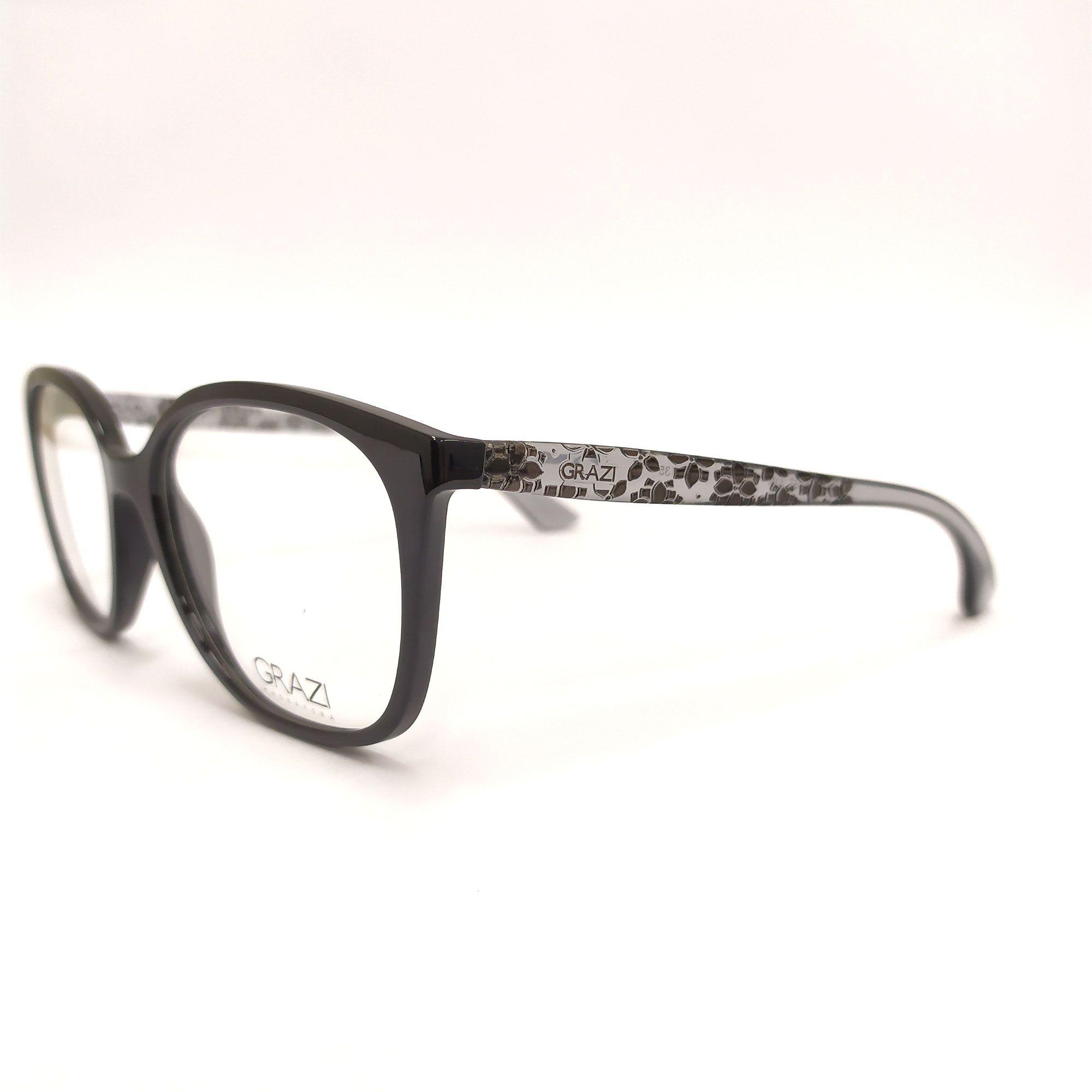 Óculos de Grau Grazi Preto GZ3046 F697