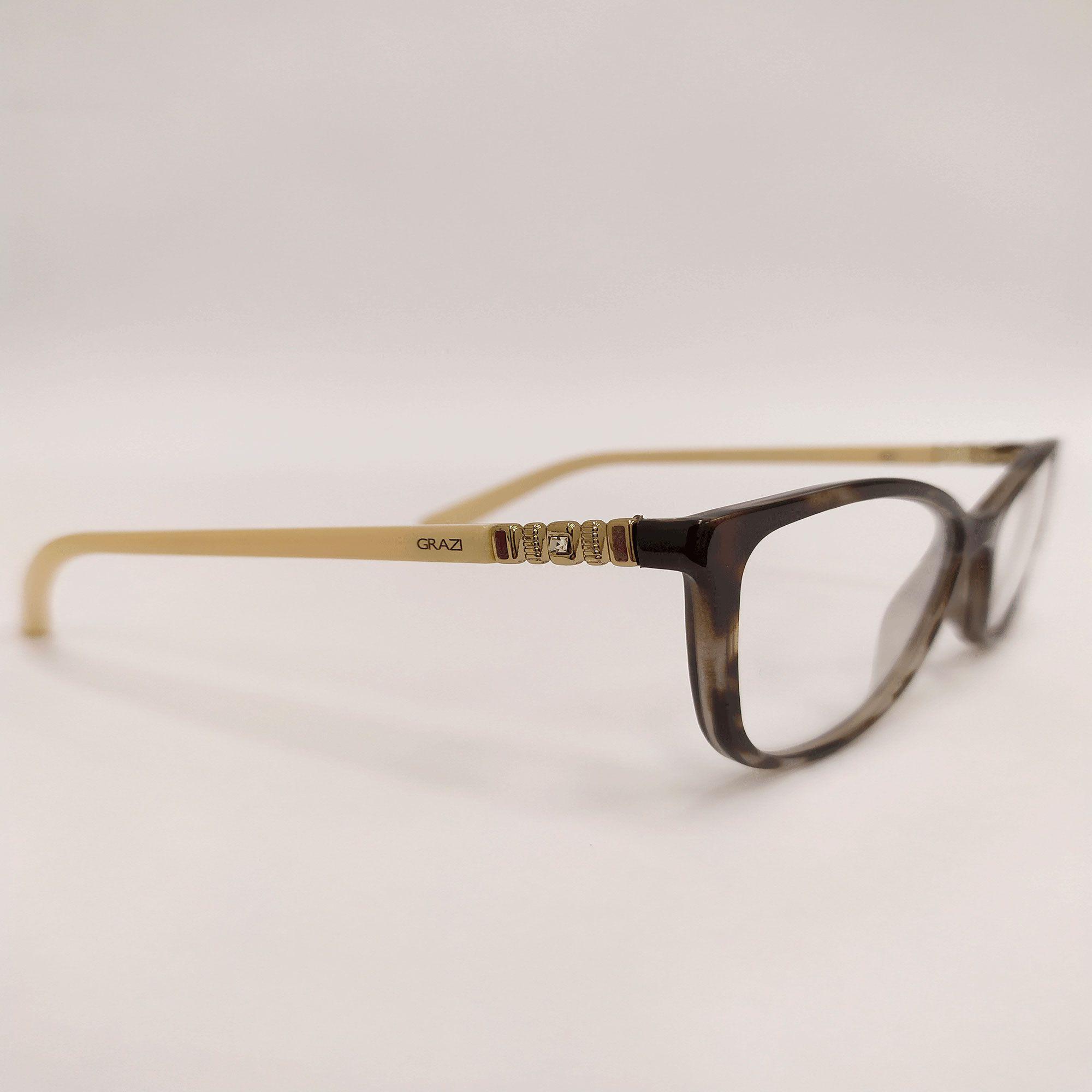 Óculos de Grau Grazi Tartaruga GZ3029B E412