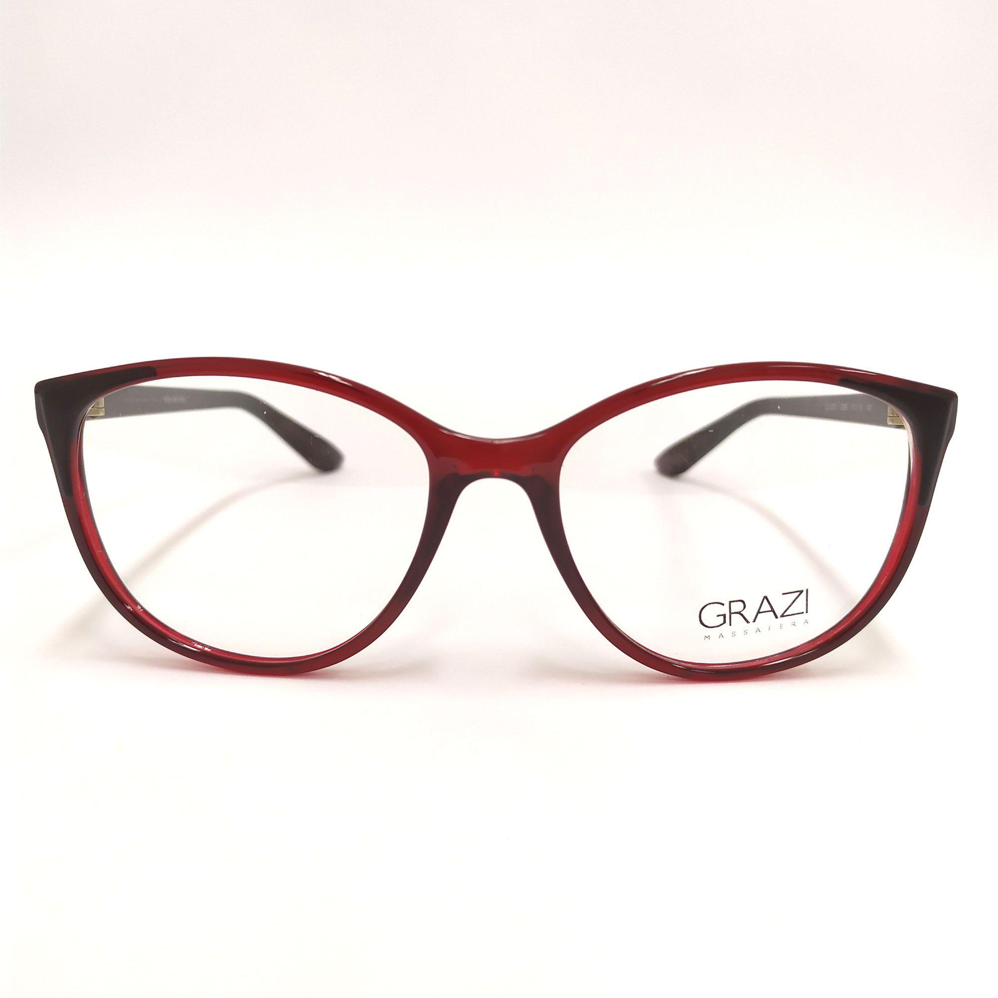 Óculos de Grau Grazi Vermelho 3057 G085