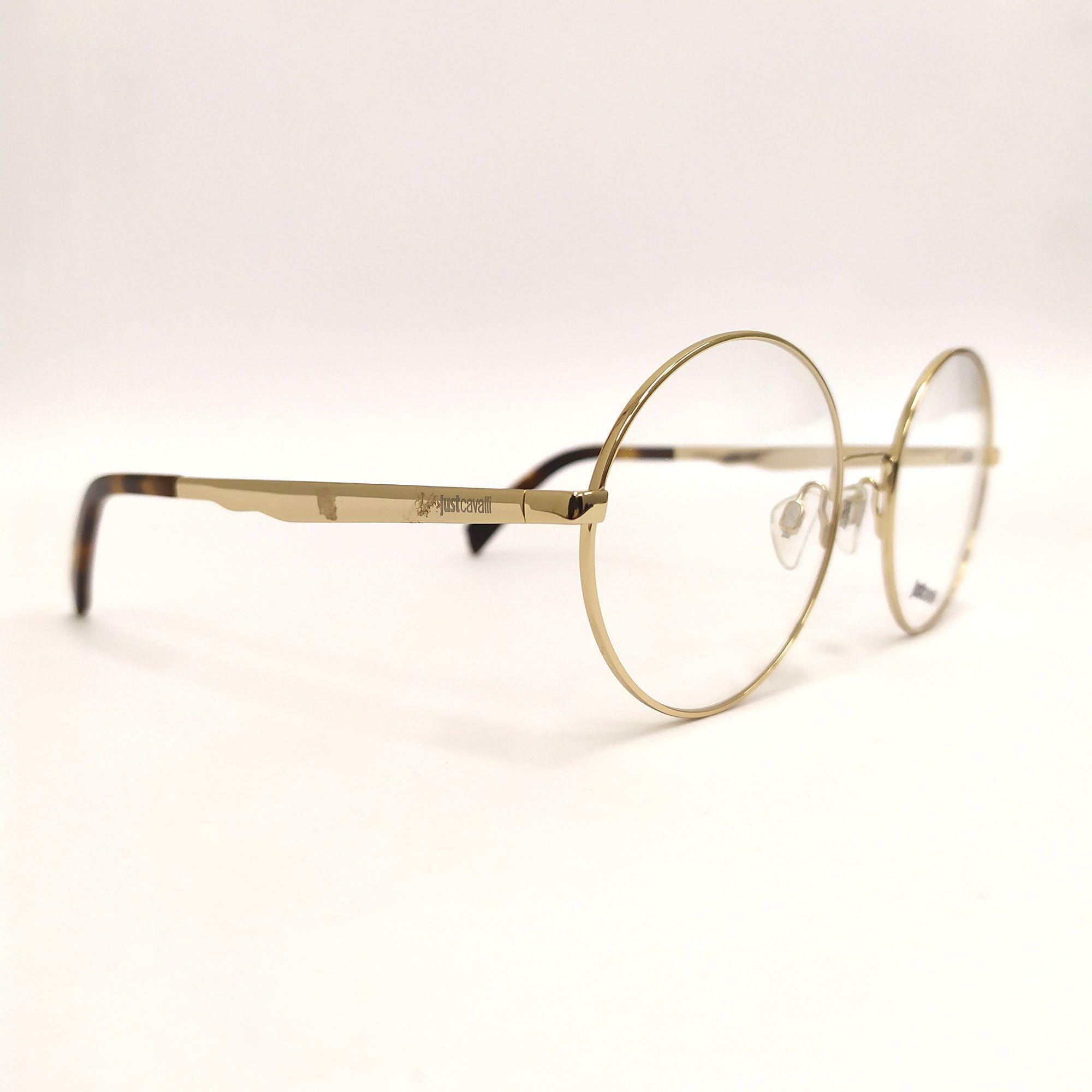 Óculos de Grau Just Cavalli Dourado JC0849 032