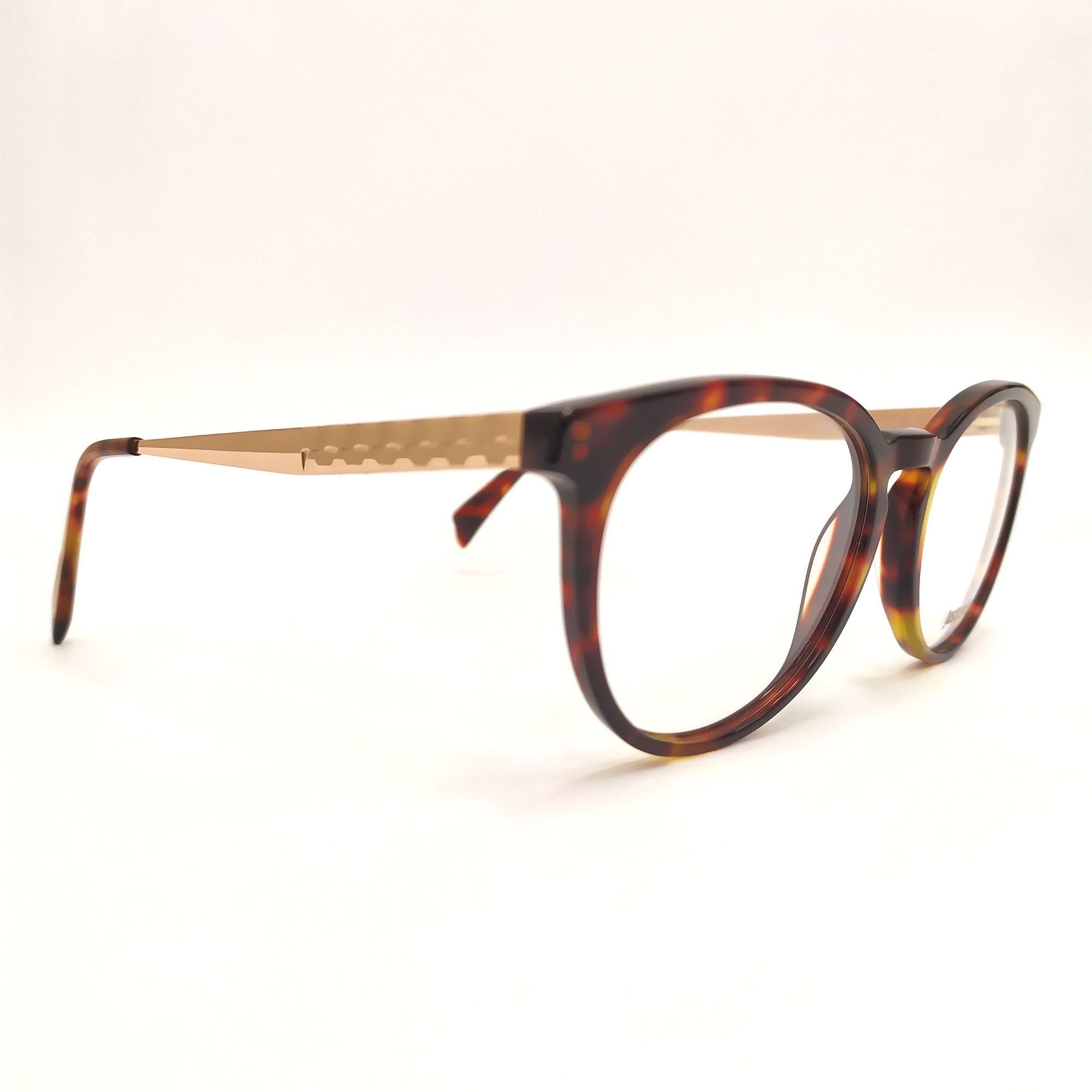 Óculos de Grau Just Cavalli Tartaruga  Haste Rose JC0793 055