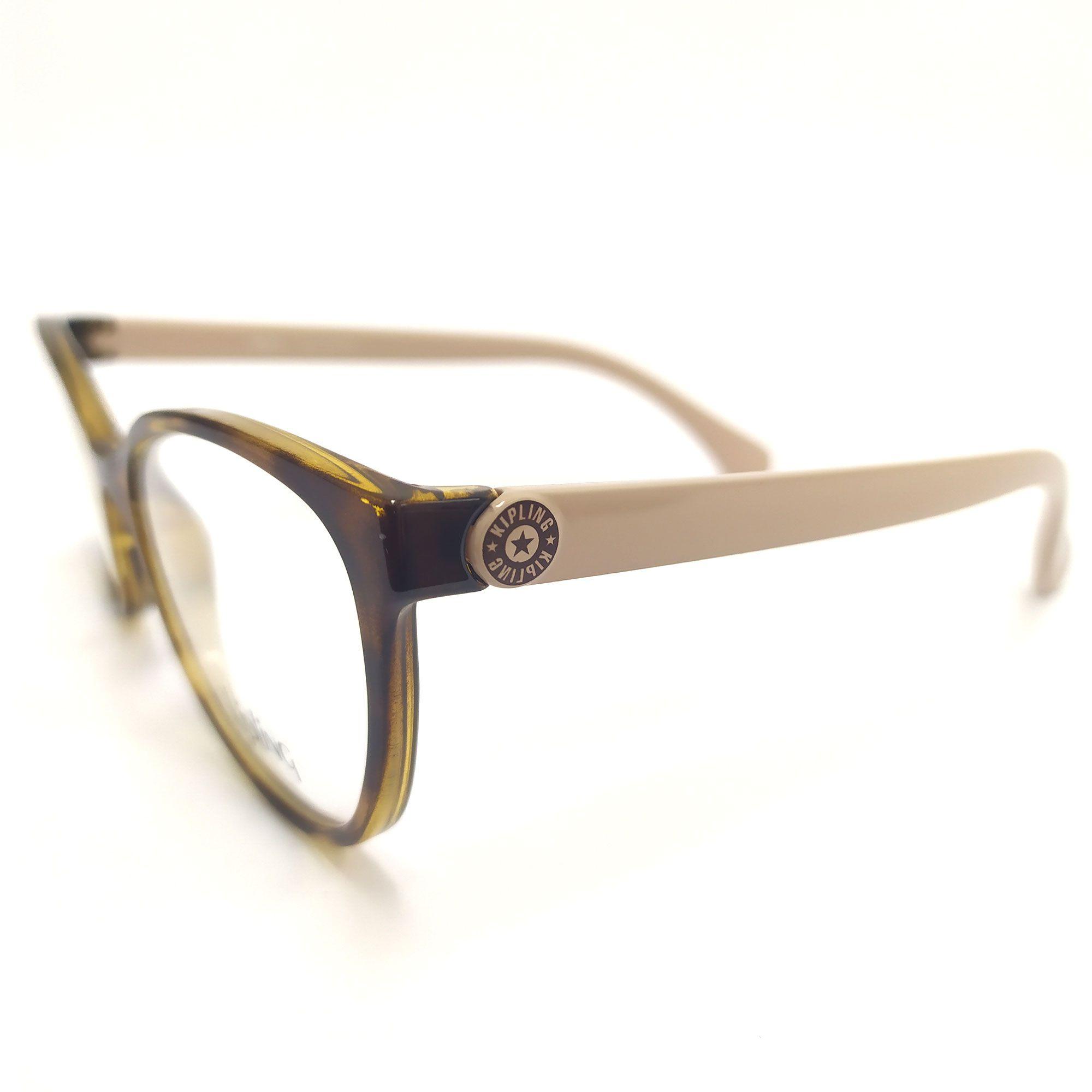 Óculos de Grau Kipling Tartaruga  3113 G124