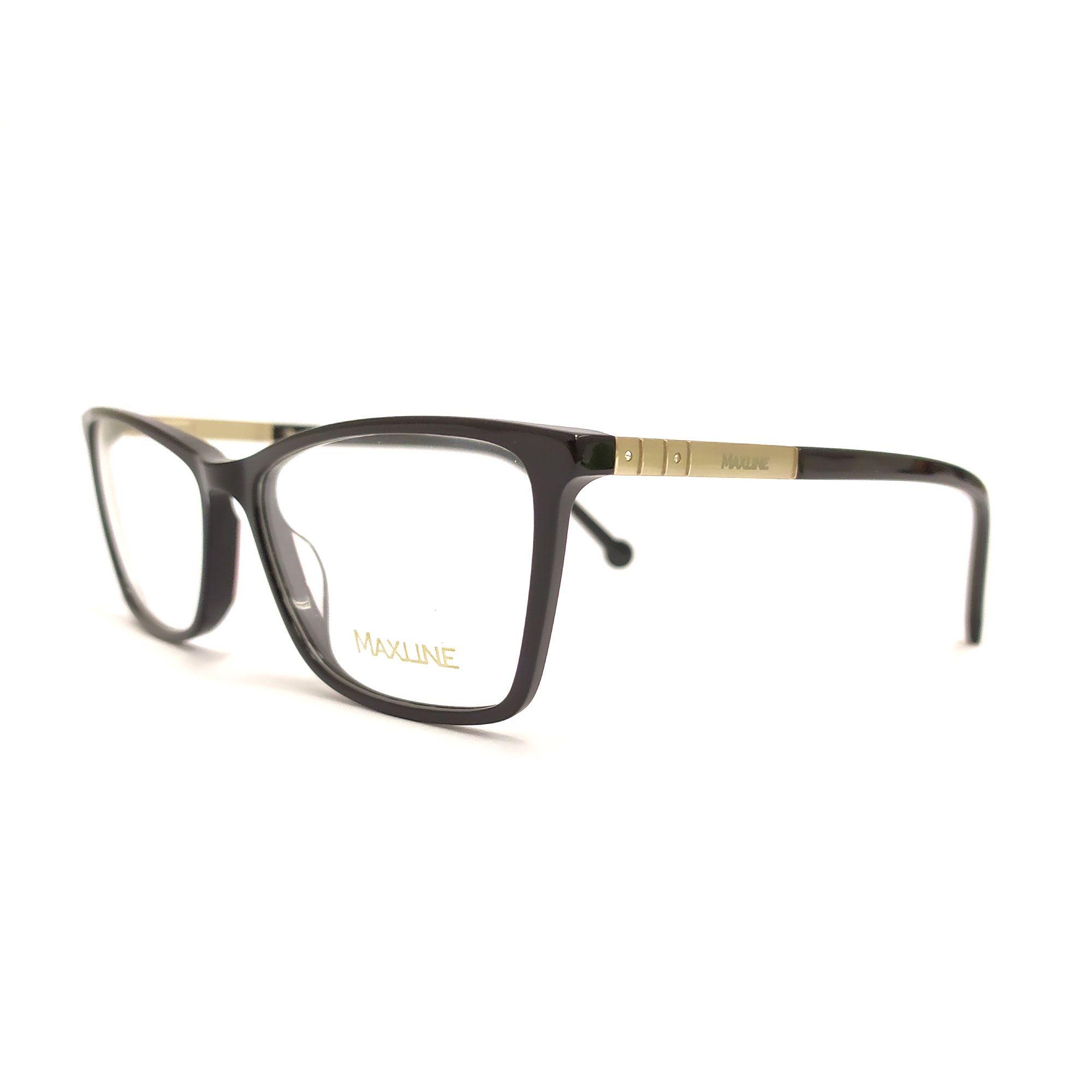 Óculos de Grau Maxline Preto ML0208