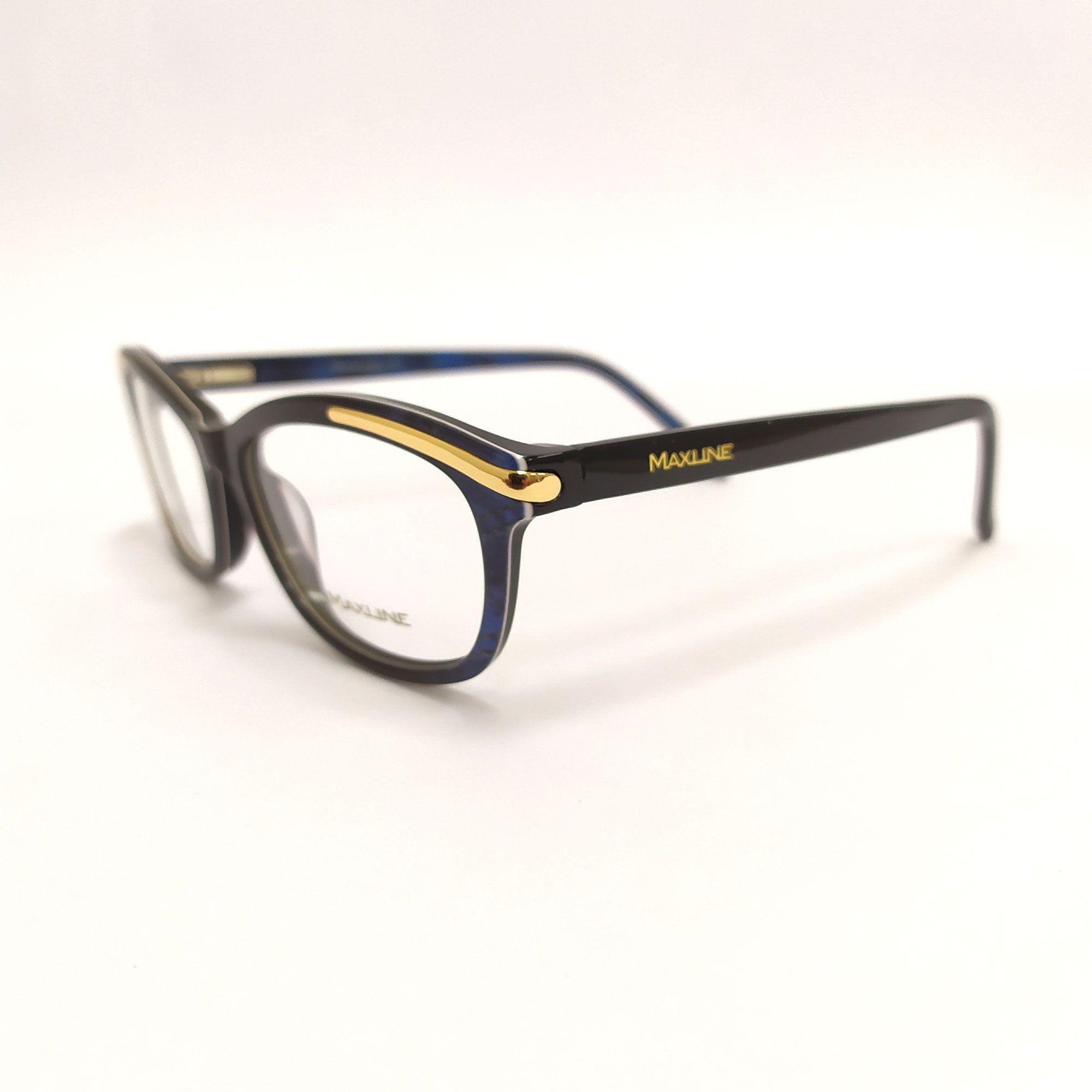 Óculos de Grau Maxline Preto ML1001