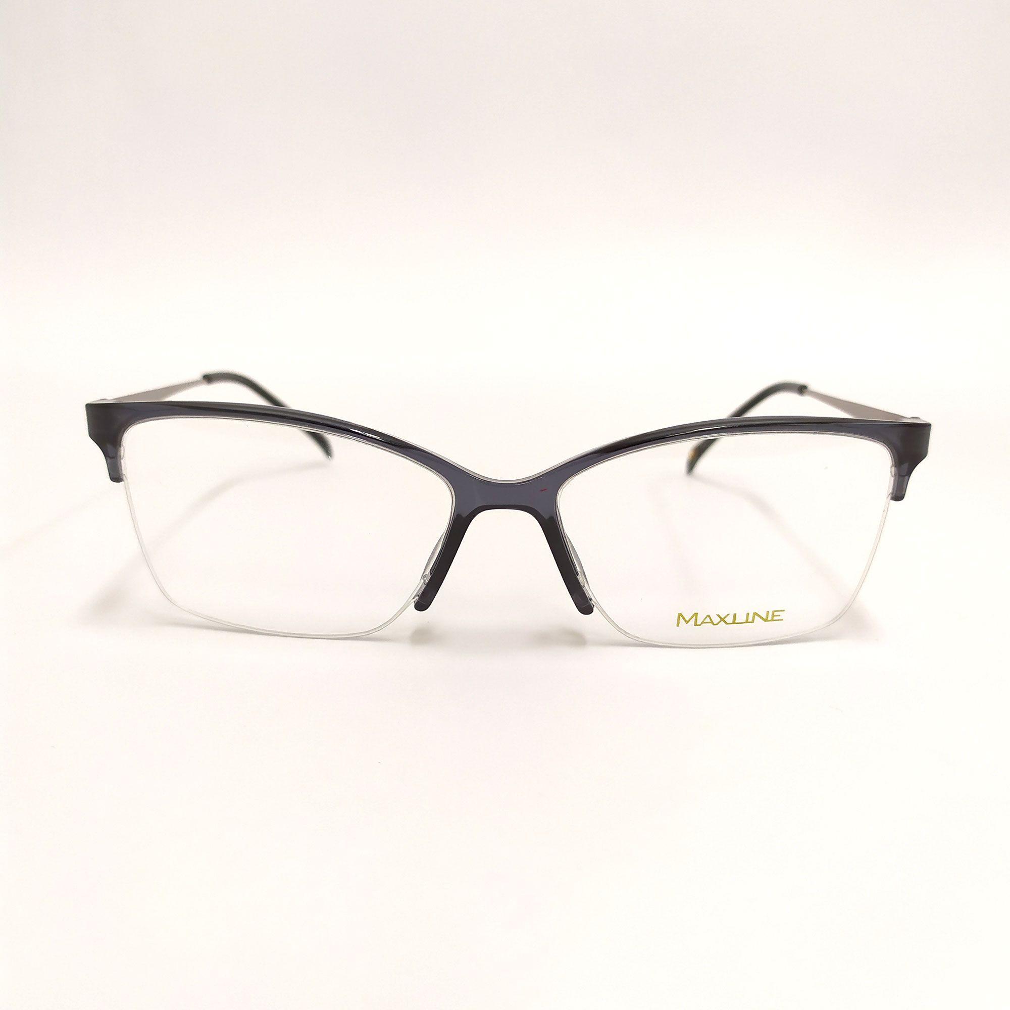 Óculos de Grau Maxline Preto  ML1017