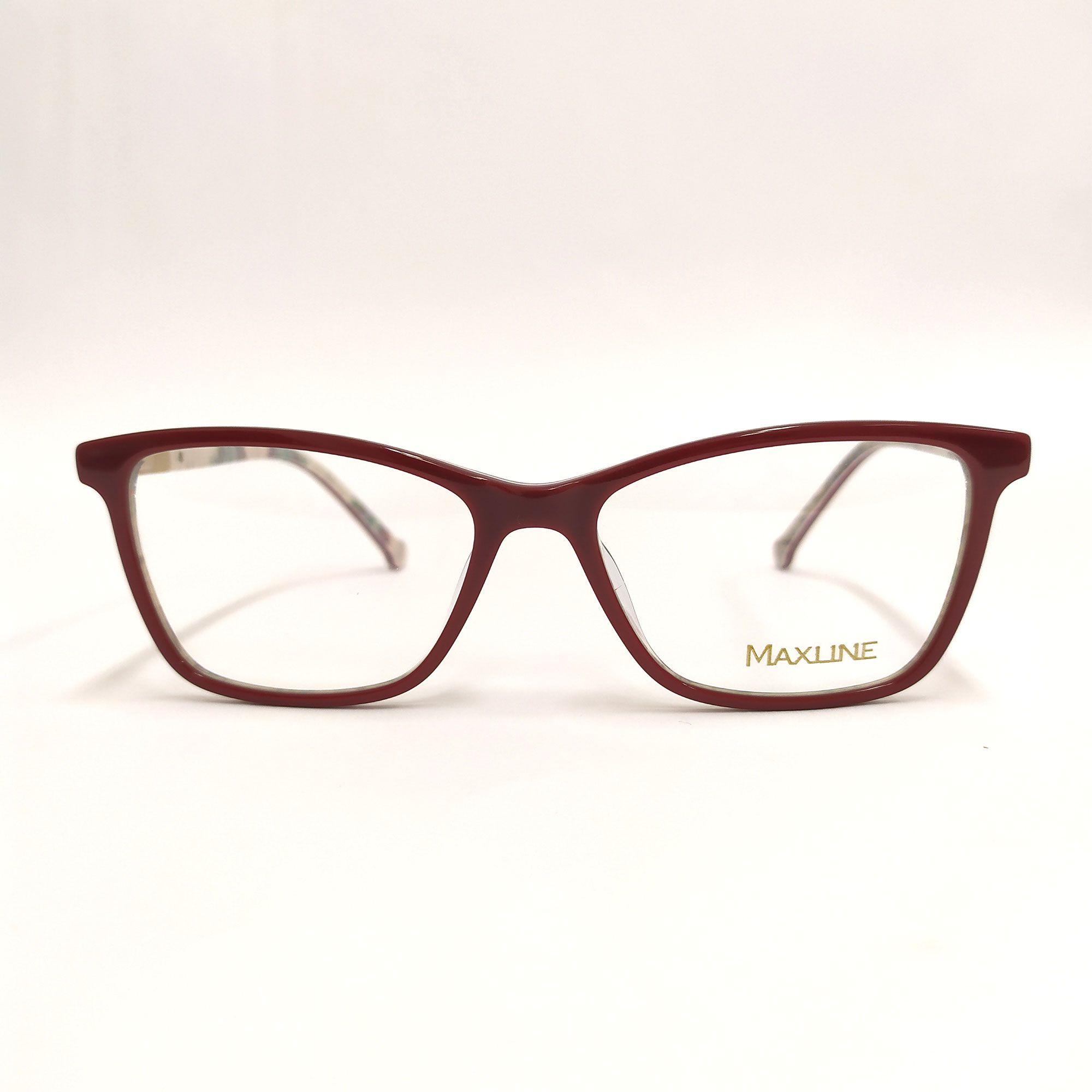 Óculos de Grau Maxline Vermelho ML0205