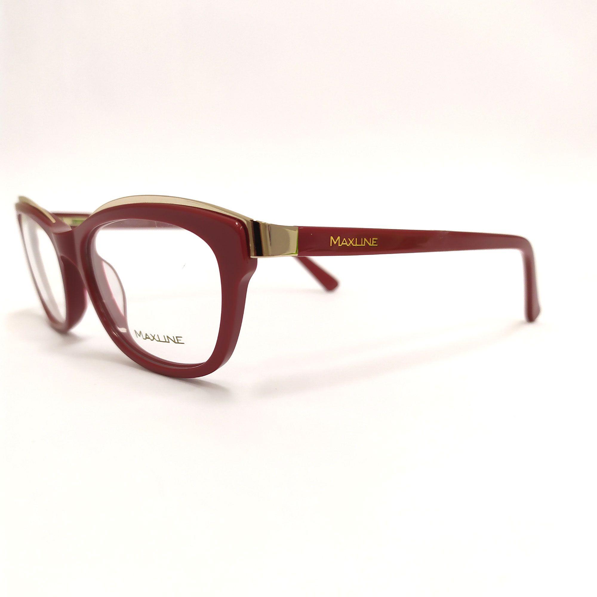 Óculos de Grau Maxline Vermelho ML095
