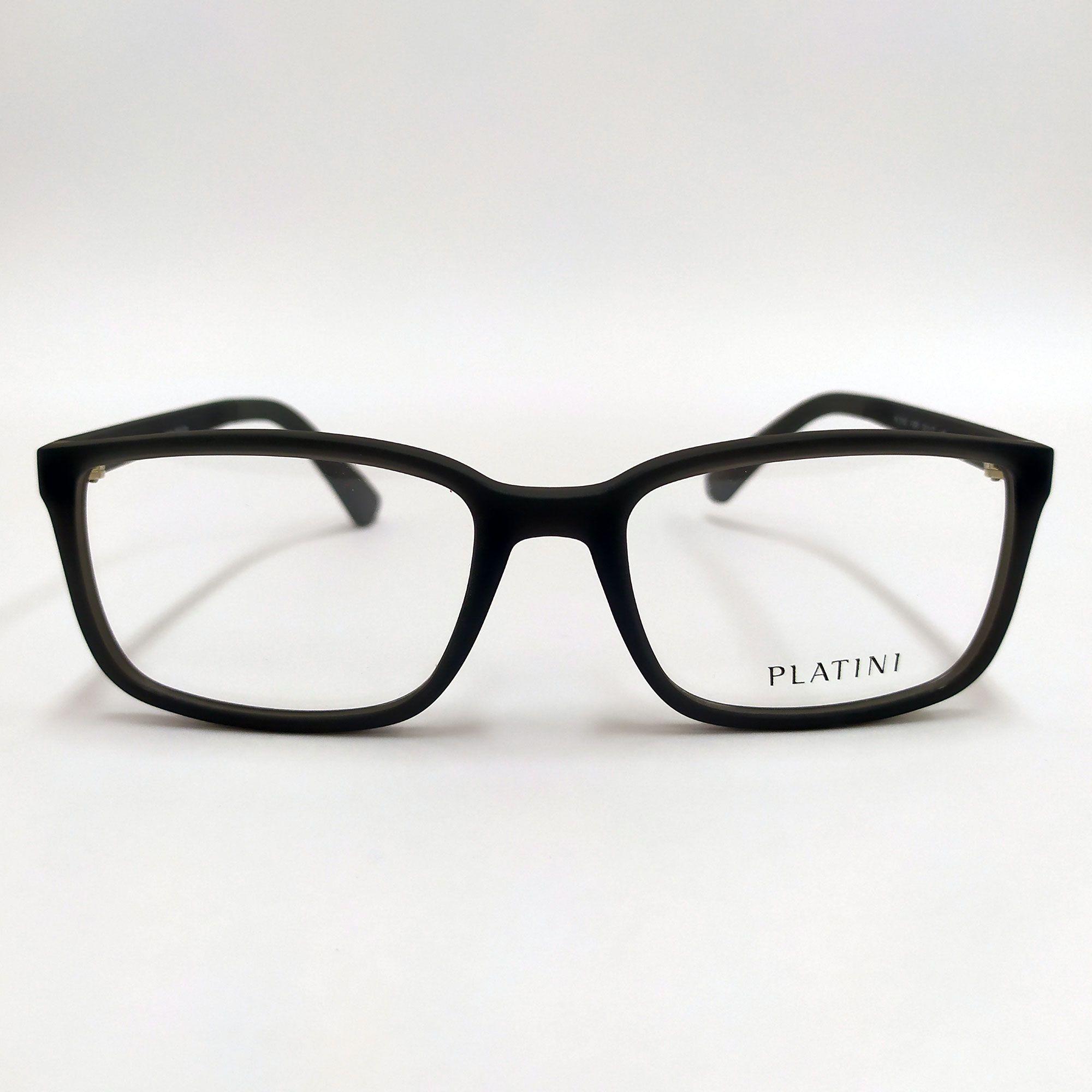 Óculos de Grau Platini Cinza  P9 3145 F984