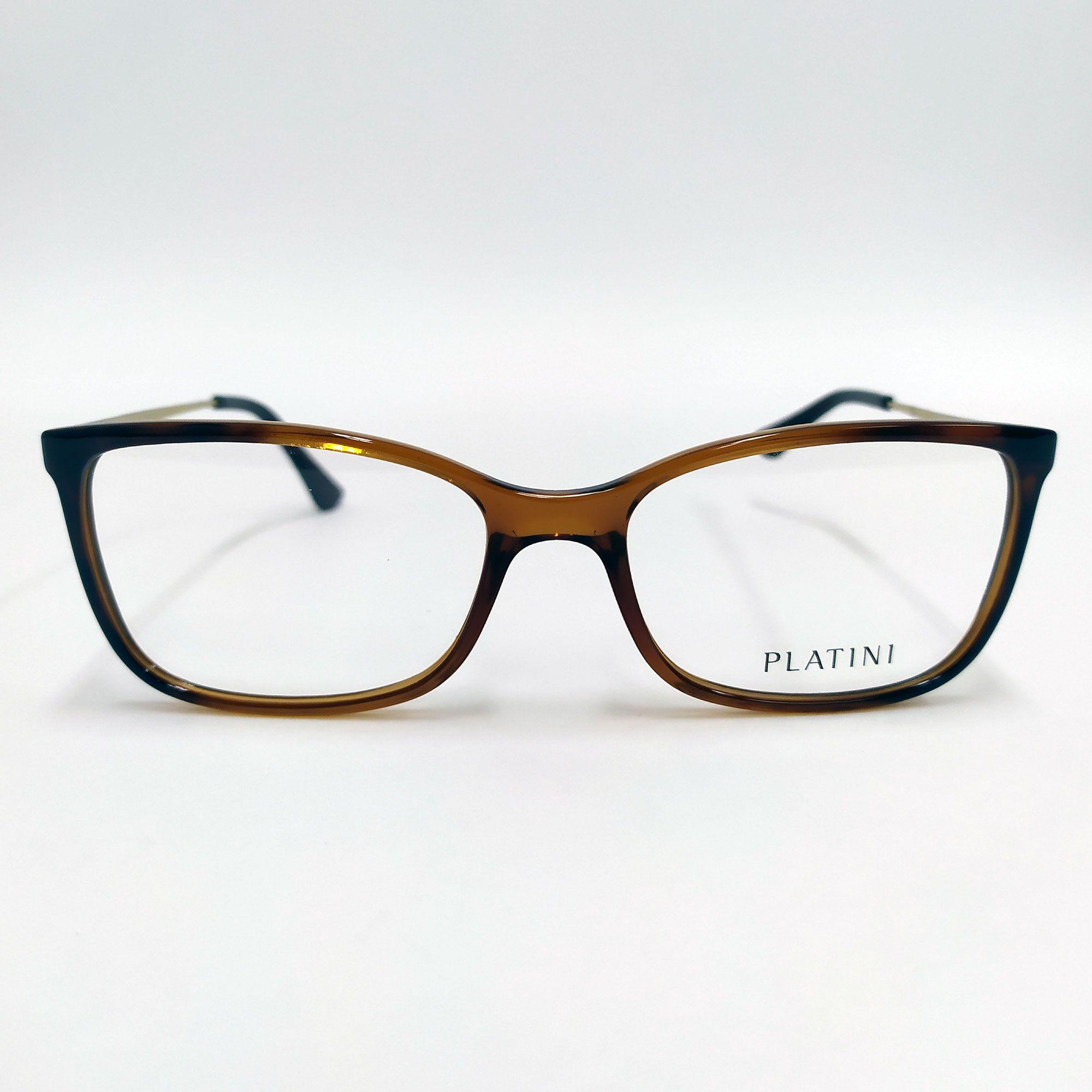 Óculos de Grau Platini Marrom P93152 G542