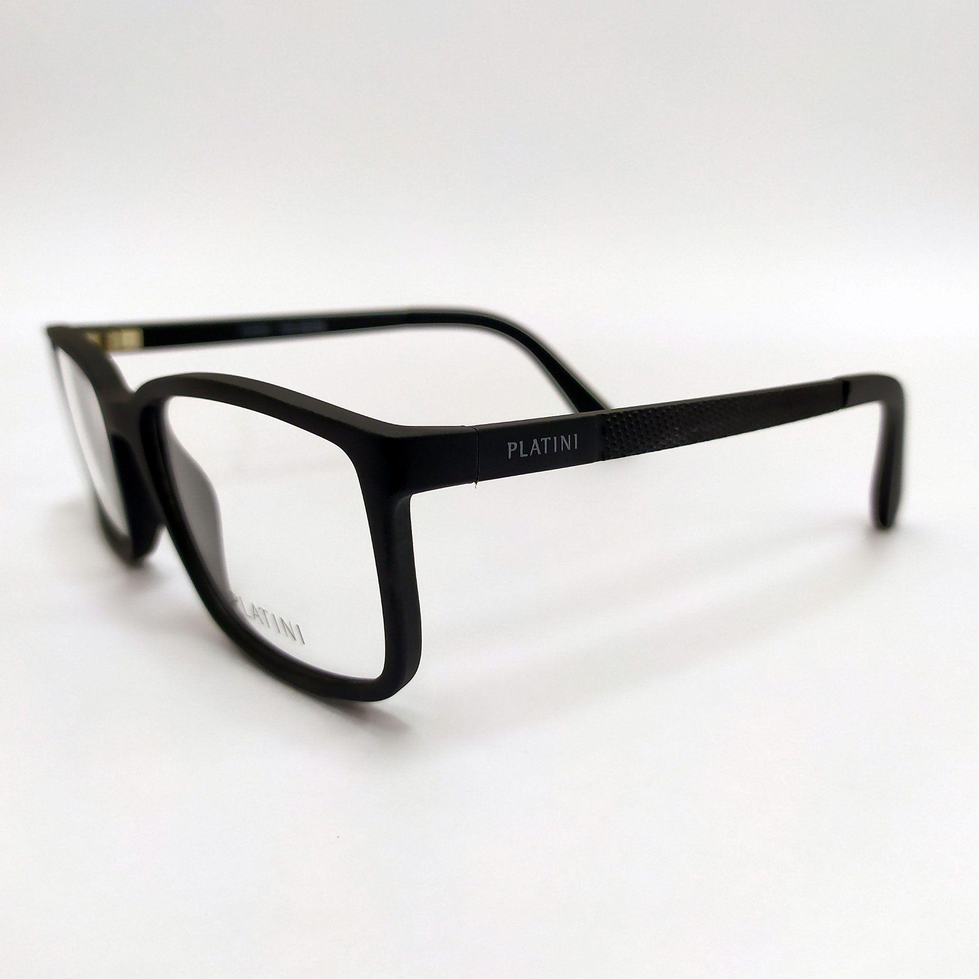 Óculos de Grau Platini Preto P93145 F985