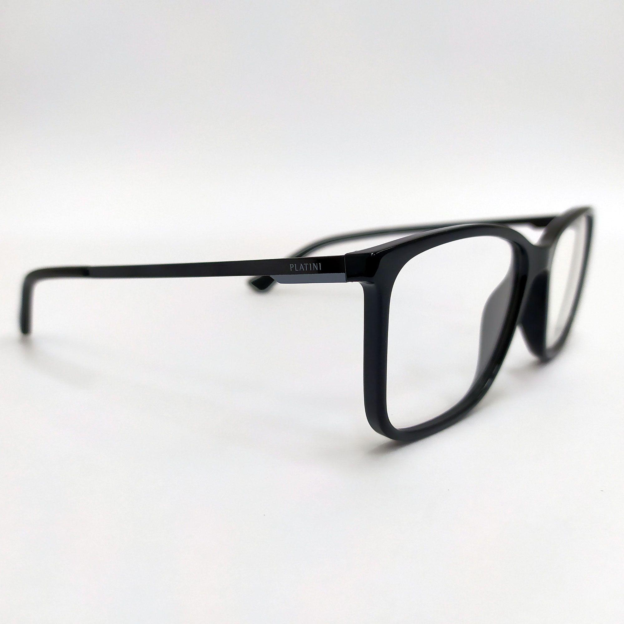 Óculos de Grau Platini Preto P9 3149 G146