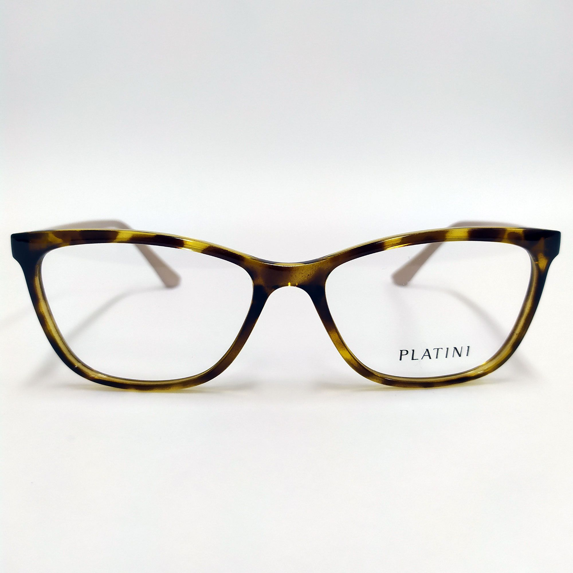 Óculos de Grau Platini Tartaruga com Haste Nude P9 3153B G547