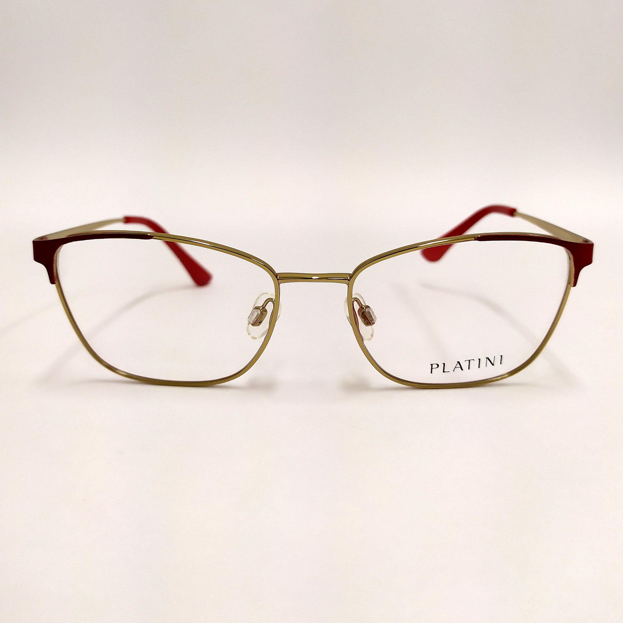 Óculos de Grau Platini Vermelho P91180 G549