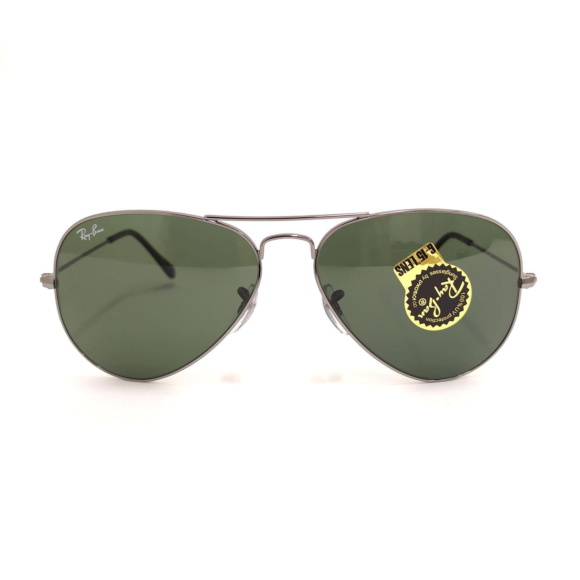 Óculos de Sol Ray-Ban Aviator Prata 3025L W0879