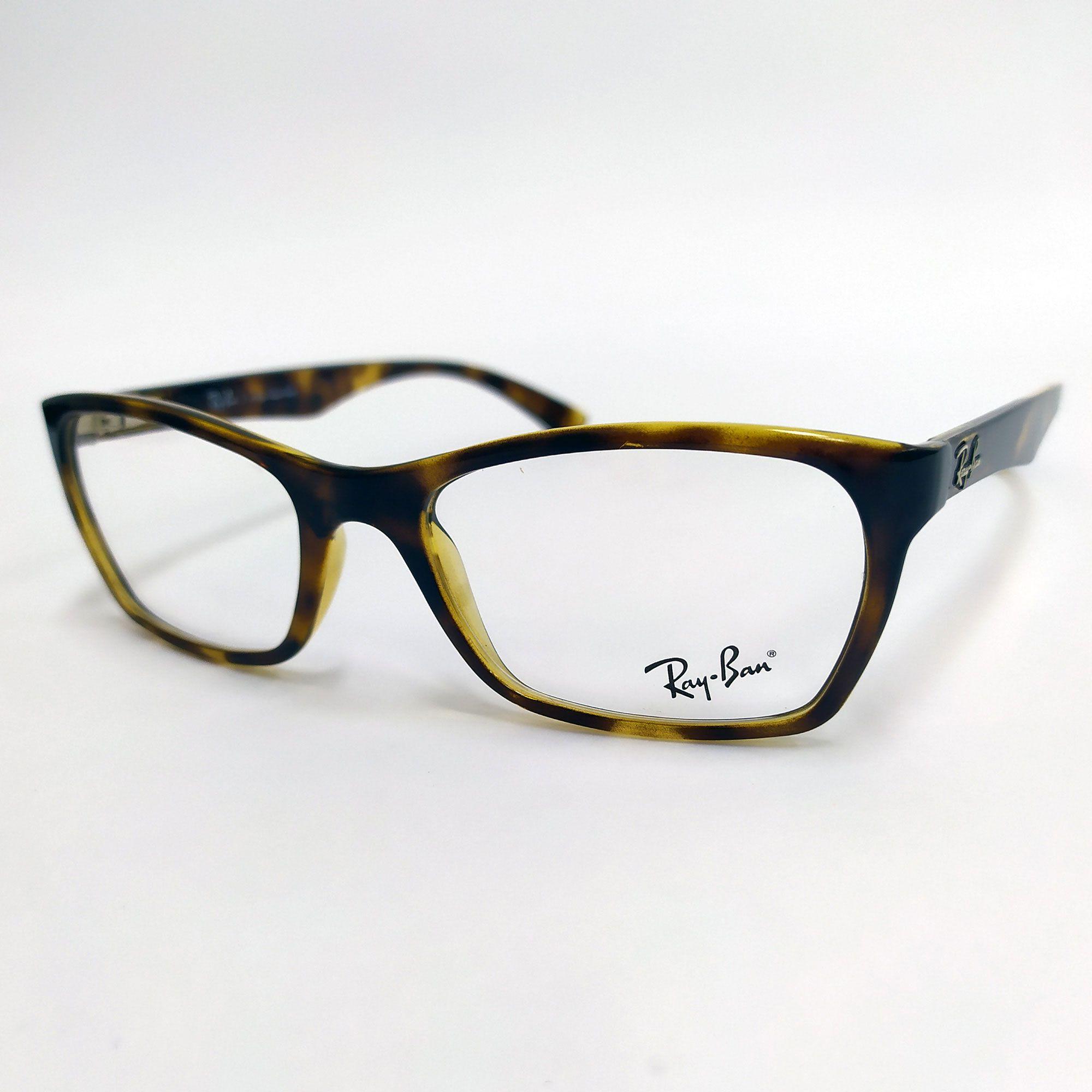 Óculos de Grau Ray-Ban Tartaruga 7033L