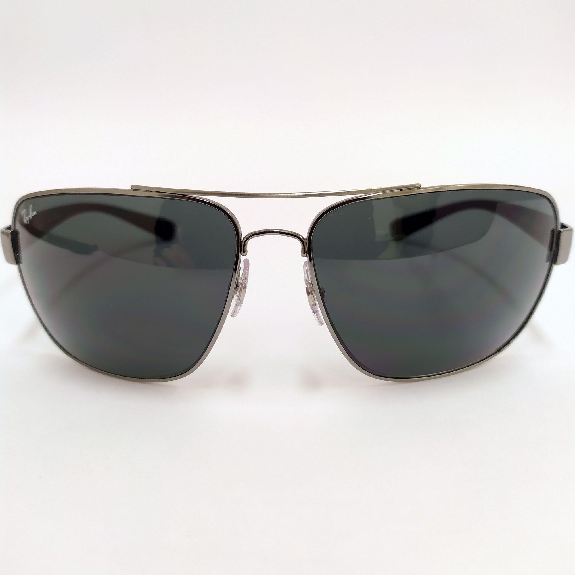 Óculos de Sol Ray-Ban Azul Marinho Lente Cinza 3567L 041/87