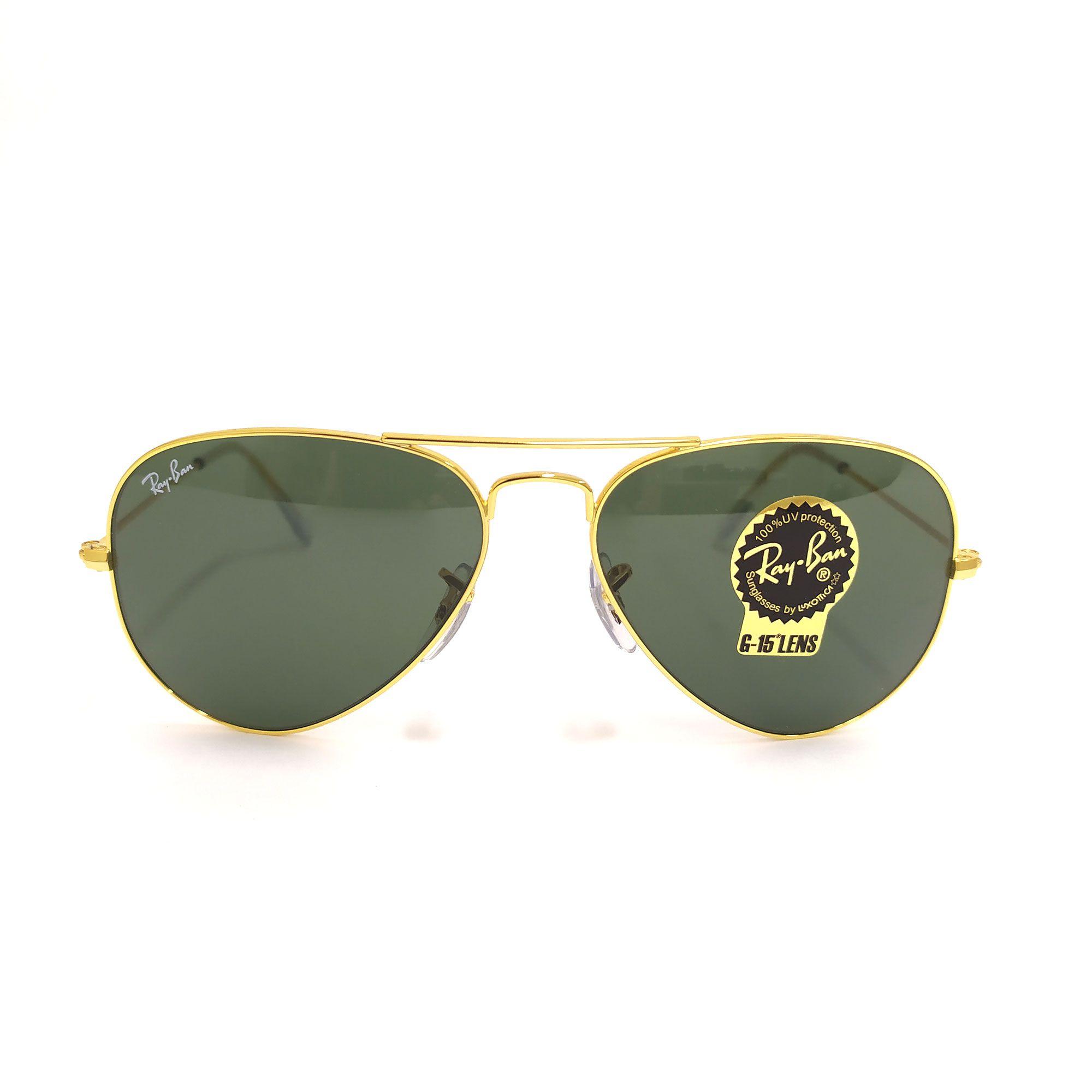 Óculos de Sol Ray-Ban  Dourador Aviator Large Metal 3025L