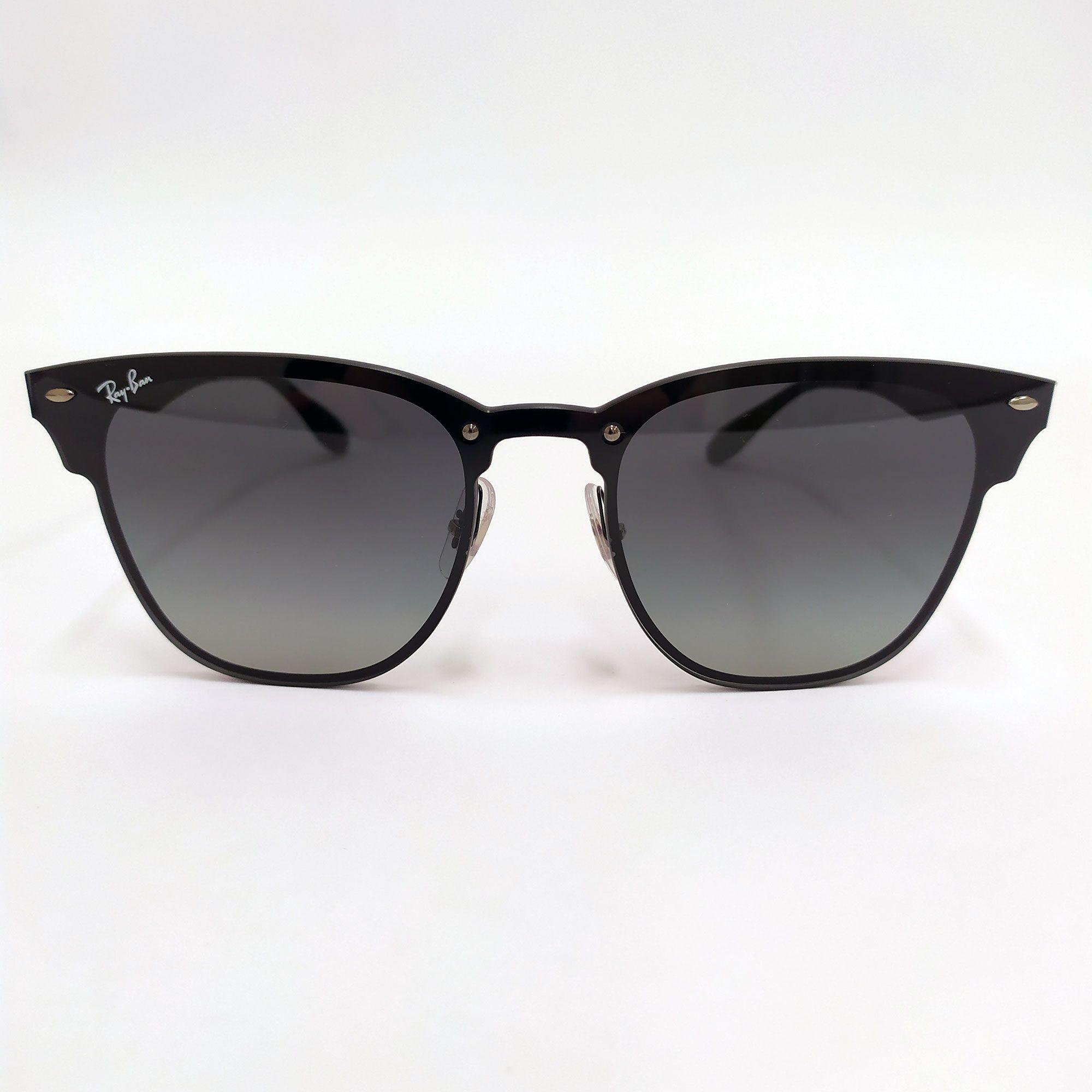 Óculos de Sol Ray-Ban Preto Blaze Clubmaster 3576N