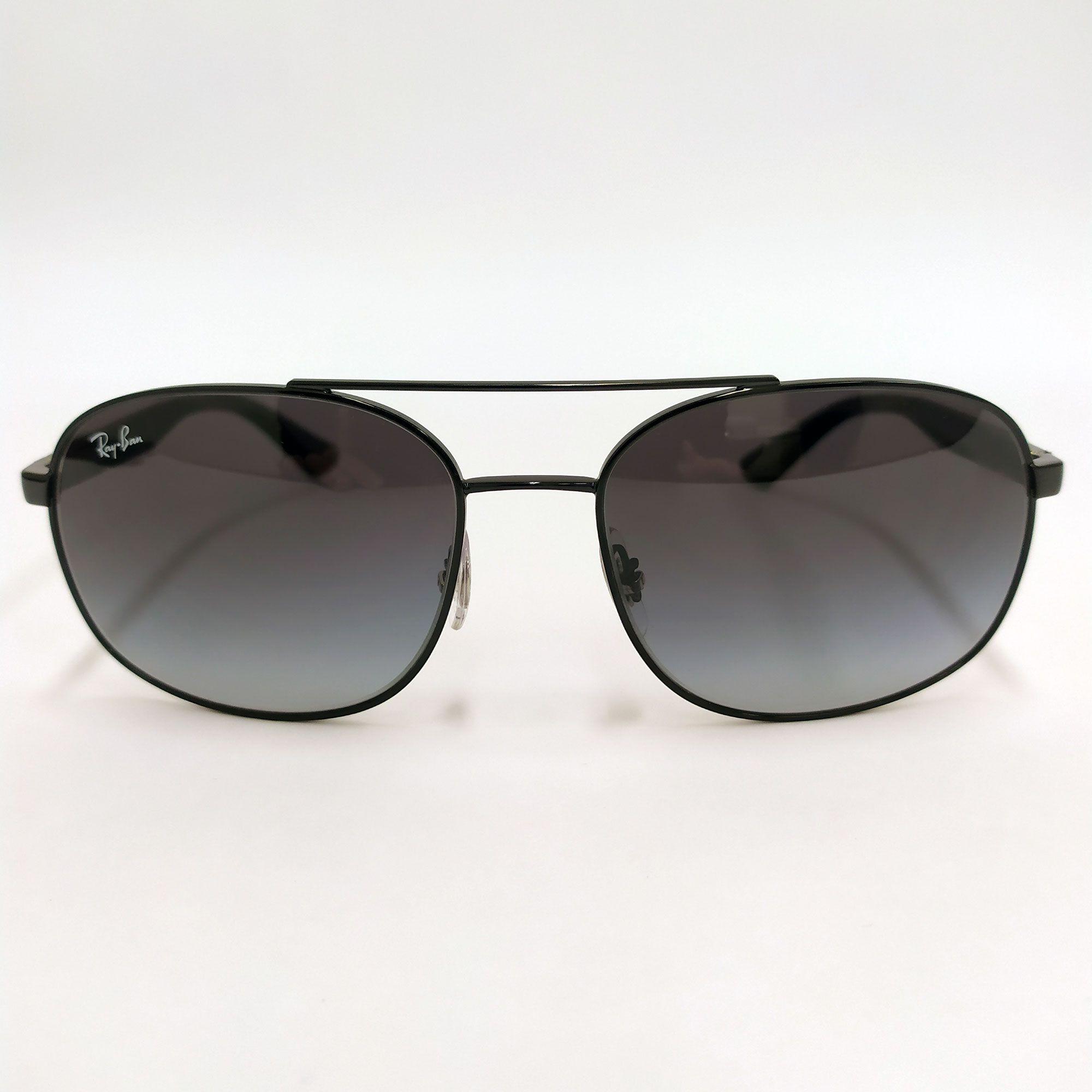 Óculos de Sol Ray-Ban Preto com Lente   Cinzento Degradê 3593