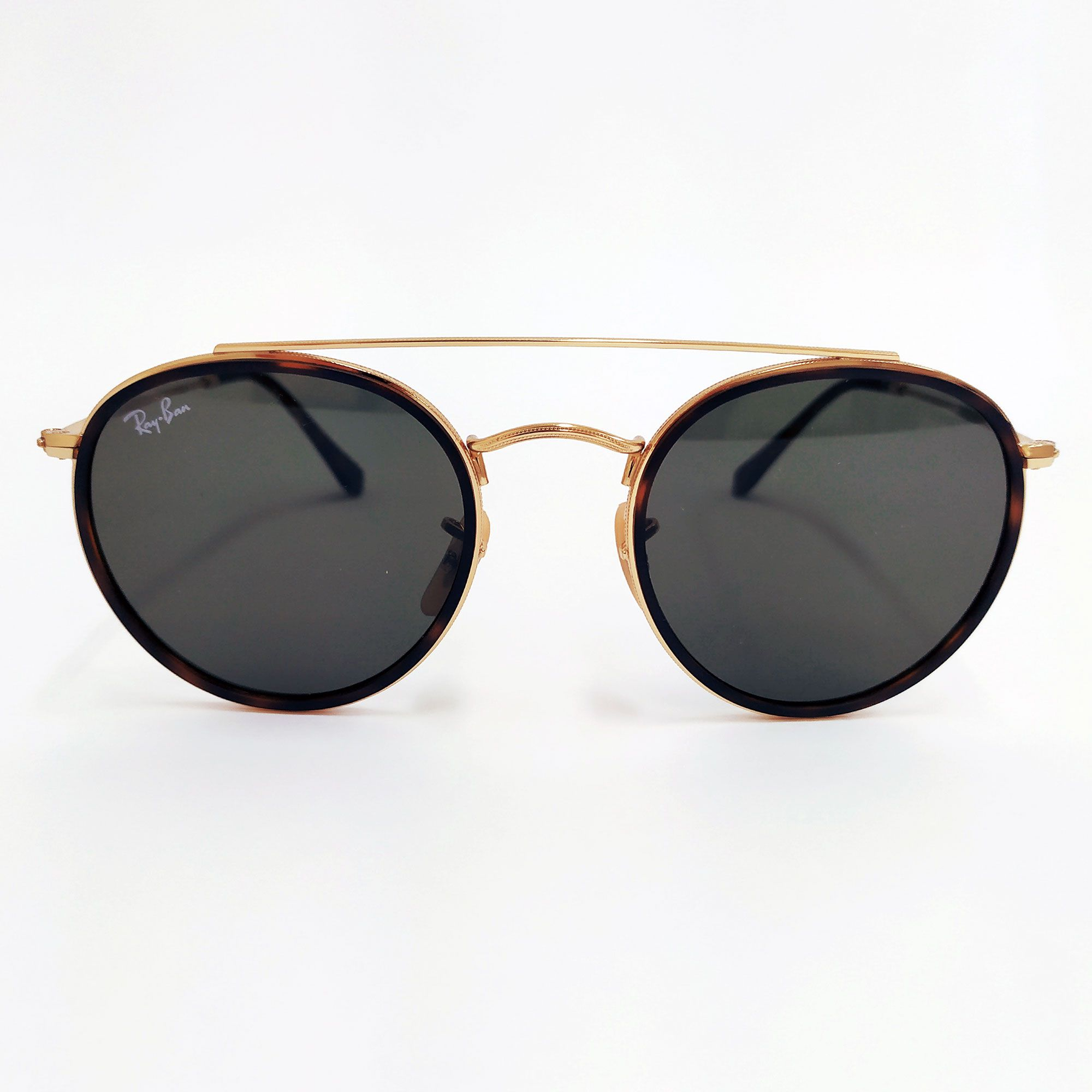 Óculos de Sol Ray-Ban Round Double Bridge 3647N