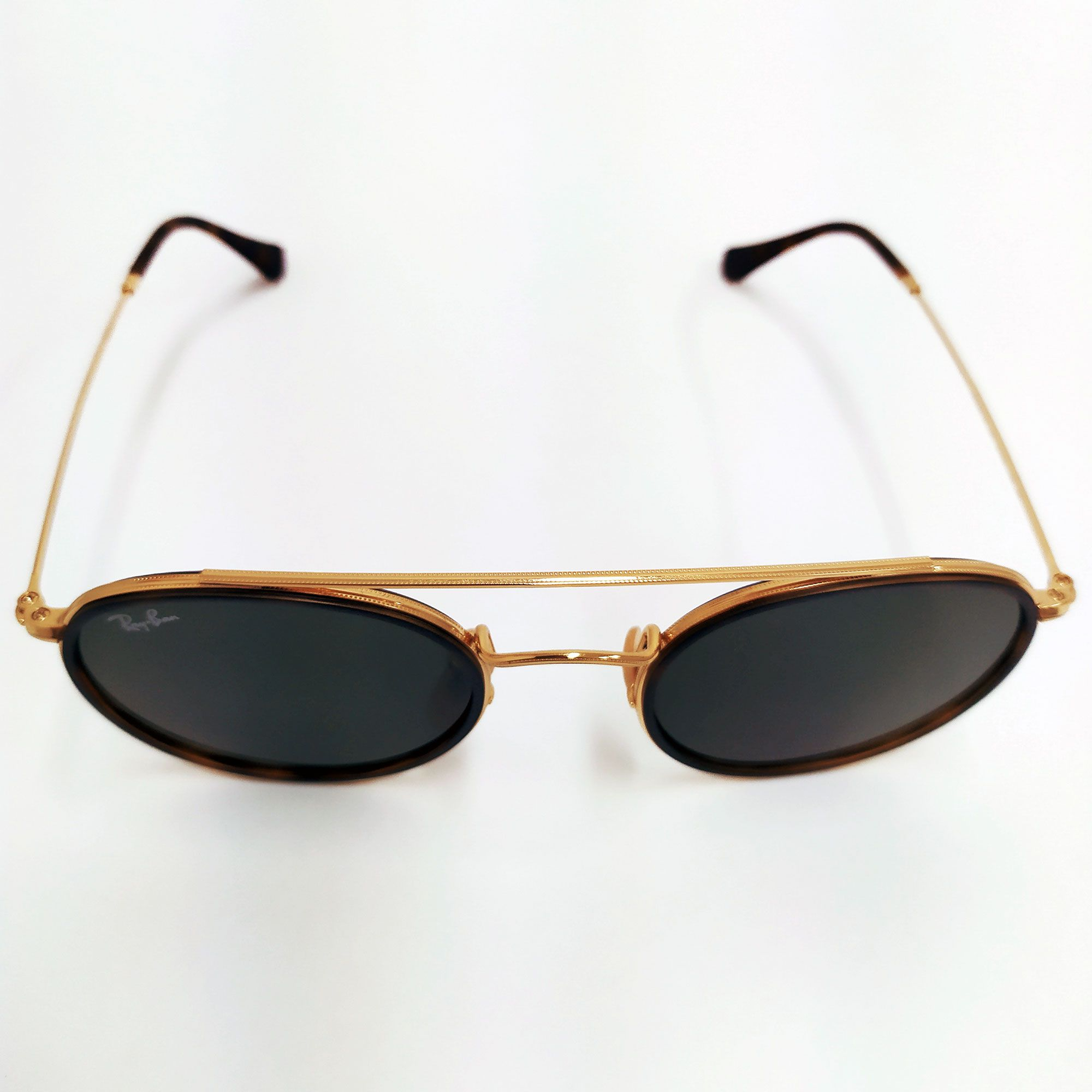 Óculos de Sol Ray-Ban Round Double Bridge 3647N