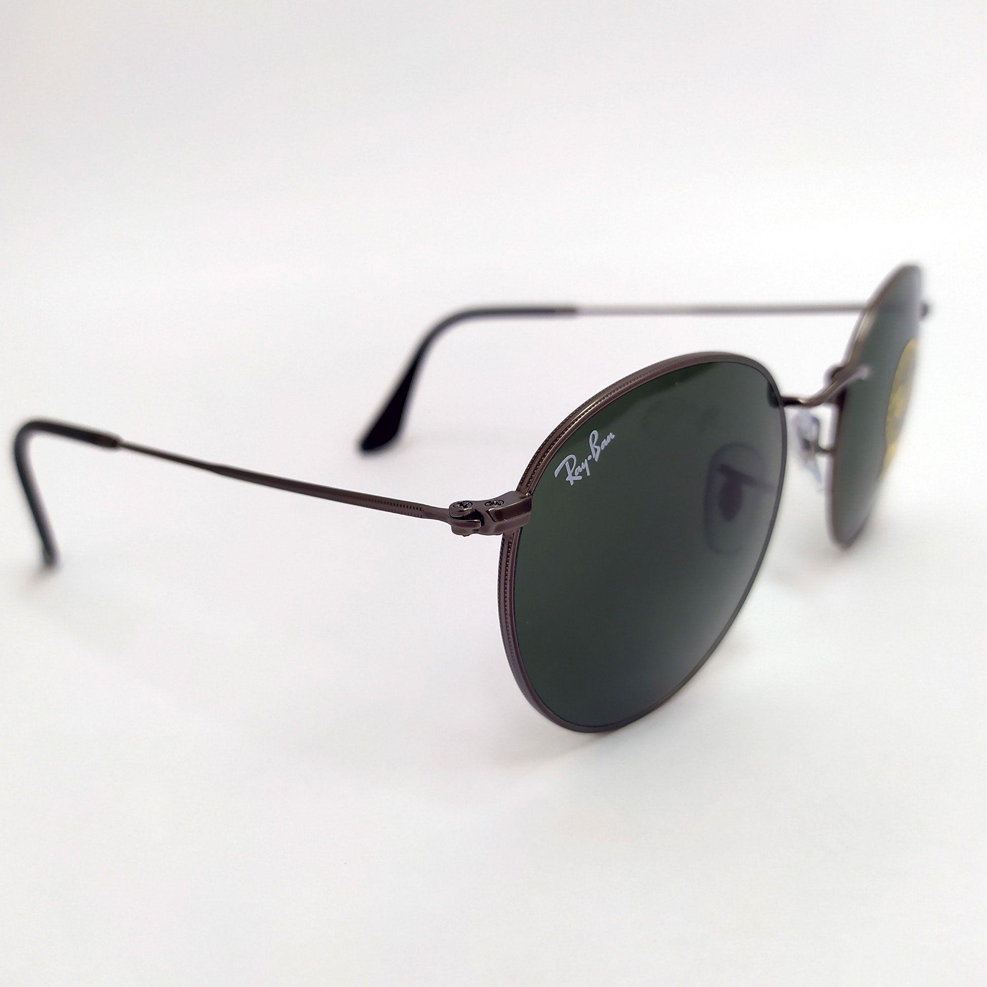 Óculos de Sol Ray-Ban Round Metal 3447L 029
