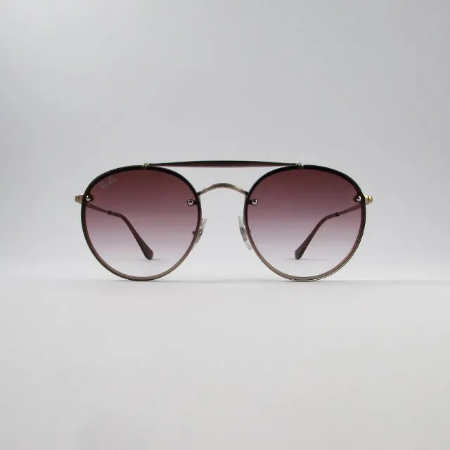 Óculos Solar Ray-Ban- Blaze Round Double Bridge