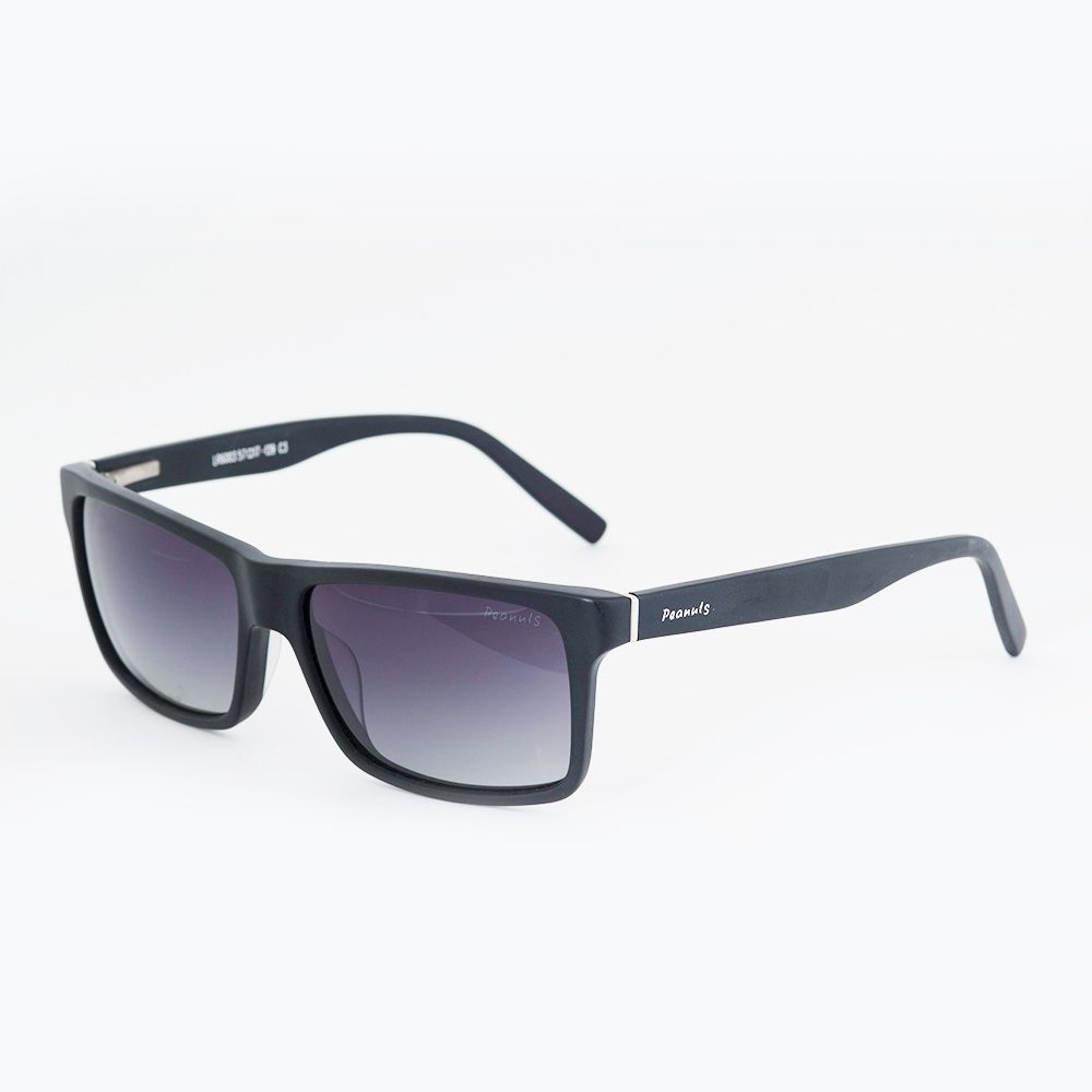 Óculos de Sol Peanuts Preto Fosco LR6003 - Óticas de Sá 5fab2d38a5