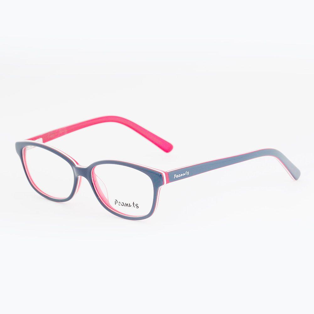 461d465518900 Óculos de Grau Peanuts Azul LR8265 Óculos de Grau Peanuts Azul LR8265