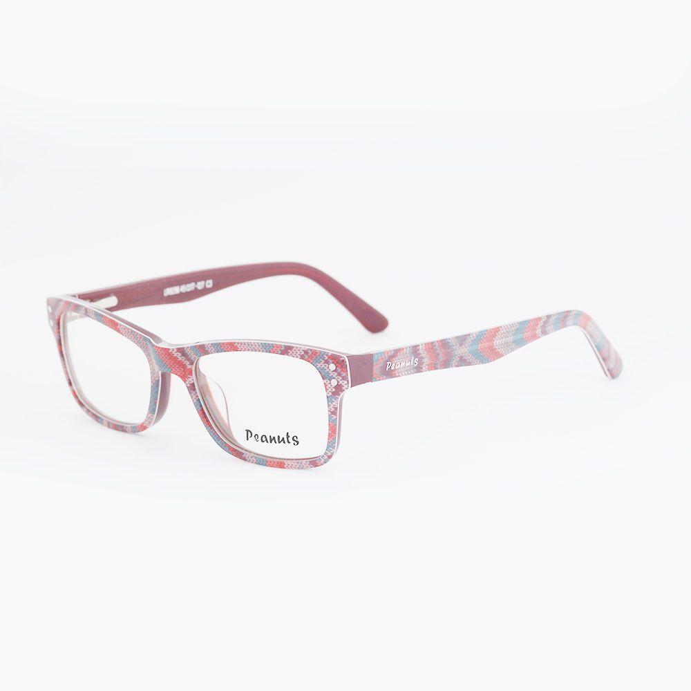 Óculos de Grau Peanuts Estampado LR8296