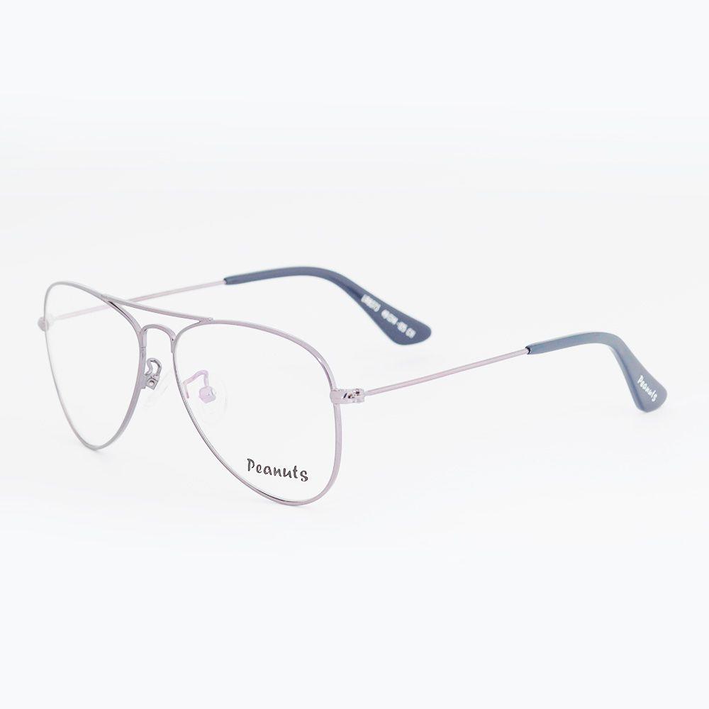 Óculos de Grau Peanuts Aviador Cinza LR8373