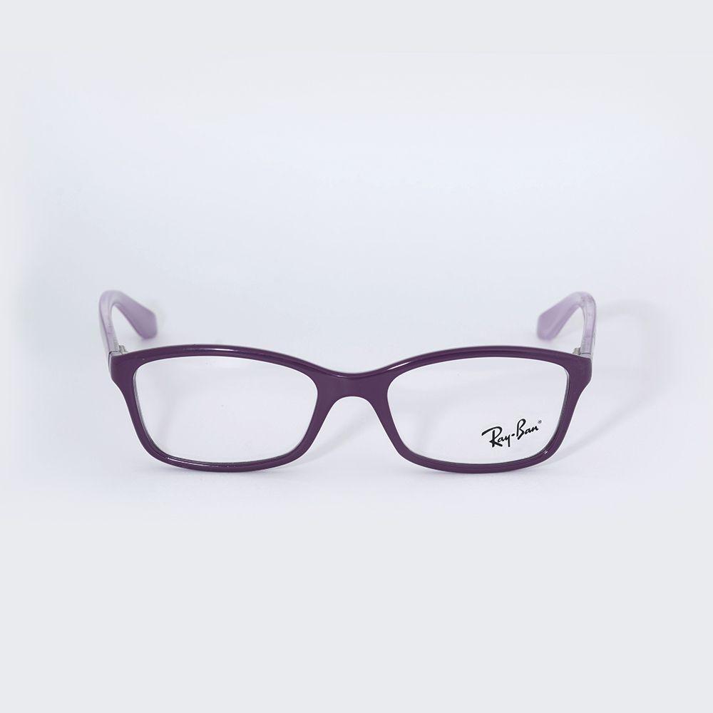 Óculos de Grau Ray Ban Roxo e Lilas 1539L