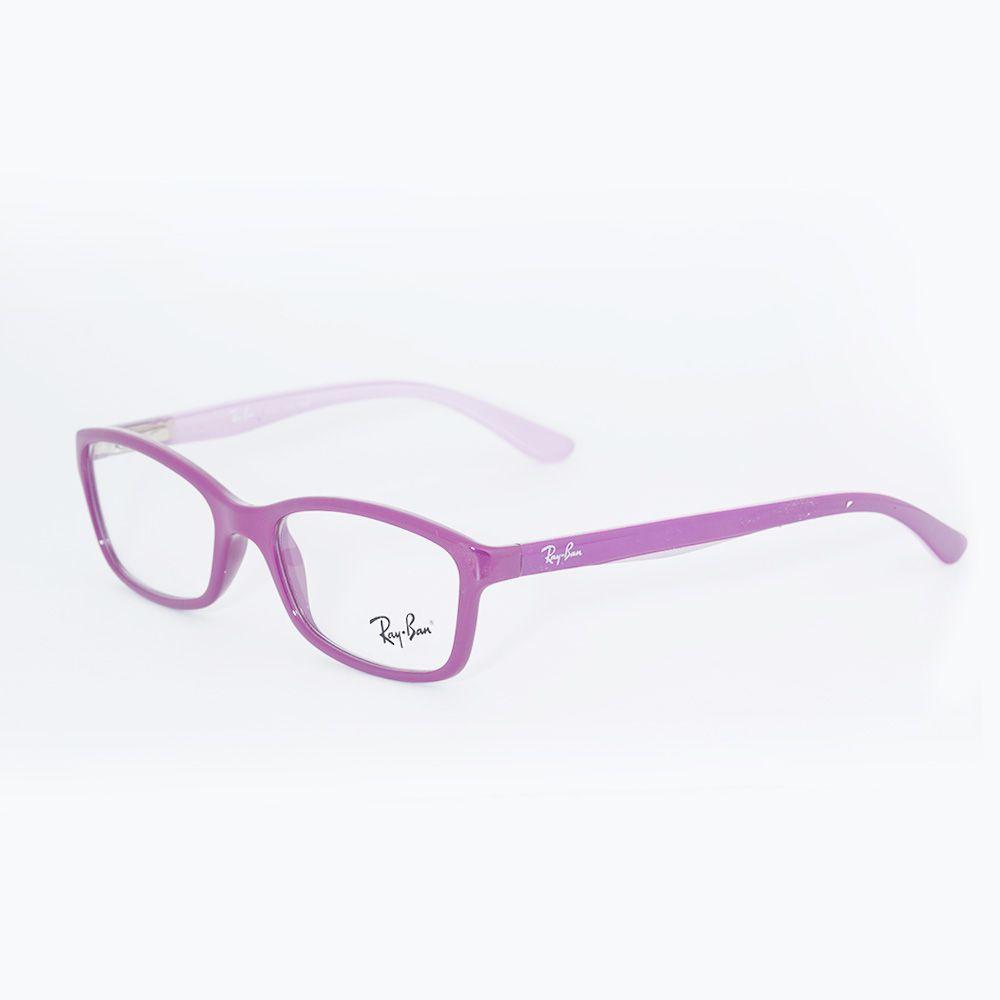 f5ee4f0514263 ... Óculos de Grau Ray Ban Roxo e Lilas 1539L