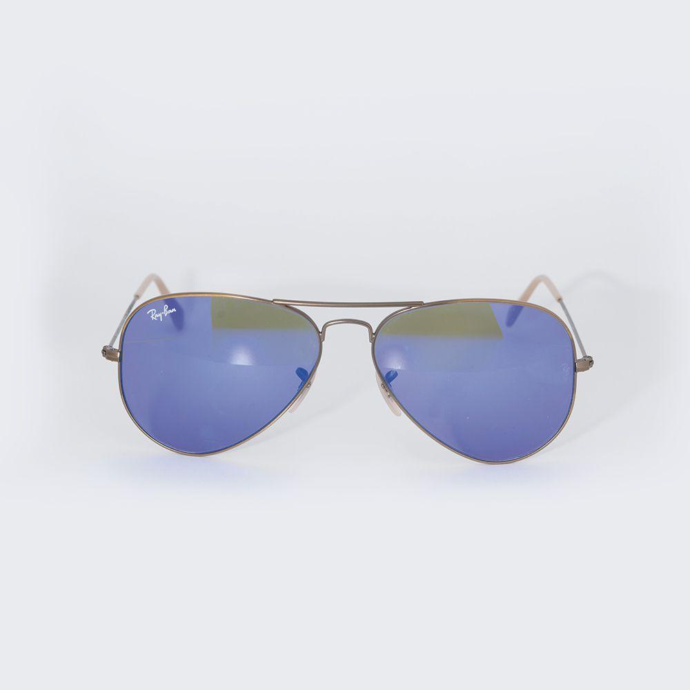 Óculos de Sol Ray Ban Espelhado Azul RB 3025