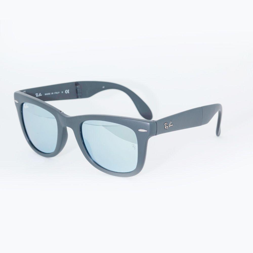 9c02e05e6b47d ... Óculos de Sol Ray Ban Wayfarer Dobravel 4105