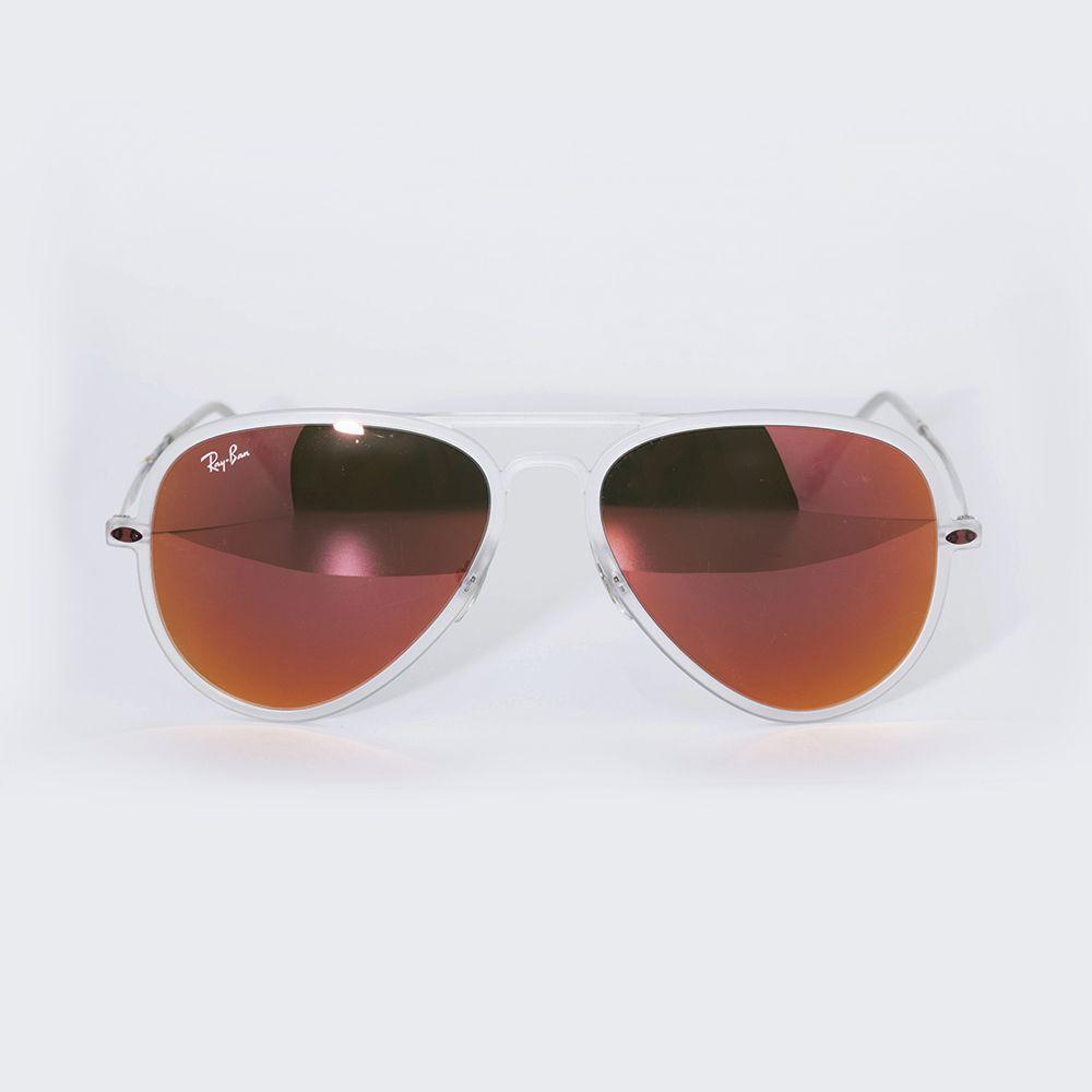 Óculos de Sol Ray Ban Espelhado Vermelho RB 4211