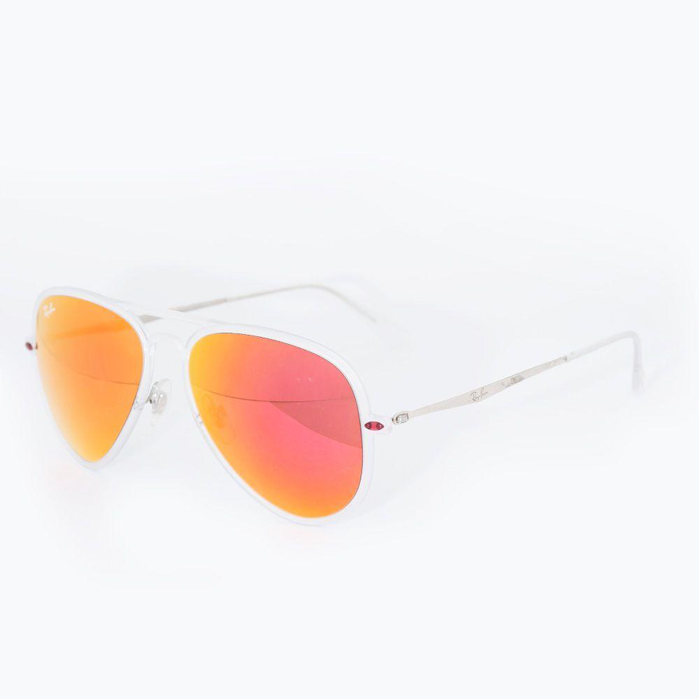 4ec469590b5e4 ... Óculos de Sol Ray Ban Espelhado Vermelho RB 4211