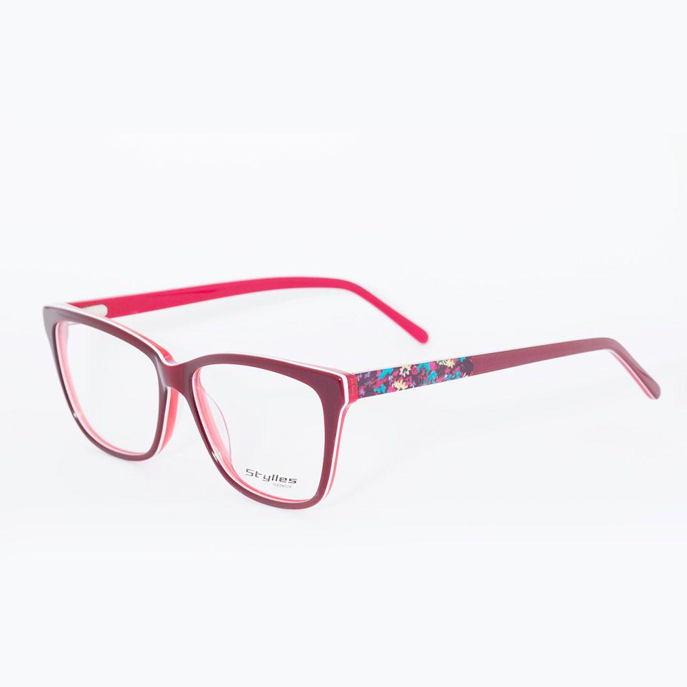 Óculos de Grau Stylles Floral CO5685