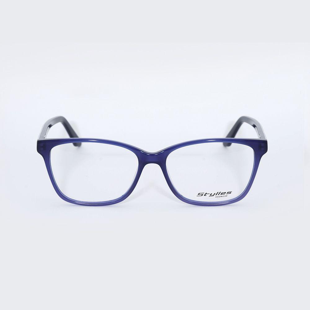 ad2af4d3a457e Óculos de Grau Stylles Azul Bike CO5657 ...