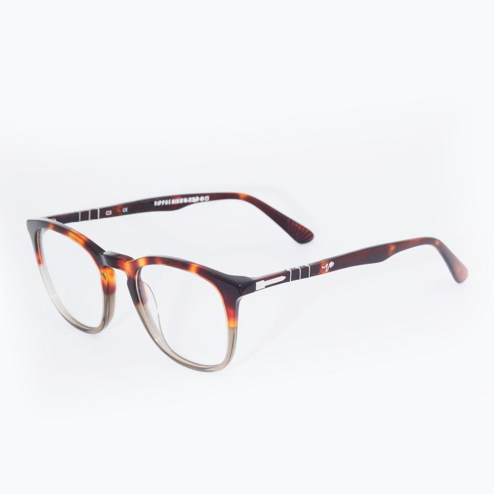 Óculos de Grau Vip Tartaruga Marrom e Verde 16-2136