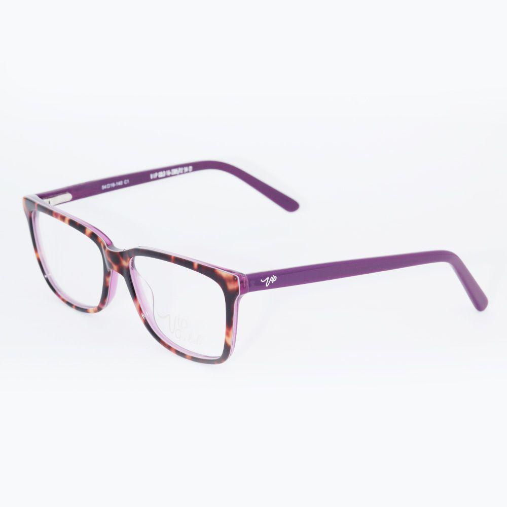 Óculos de Grau Vip Roxo 16-7032