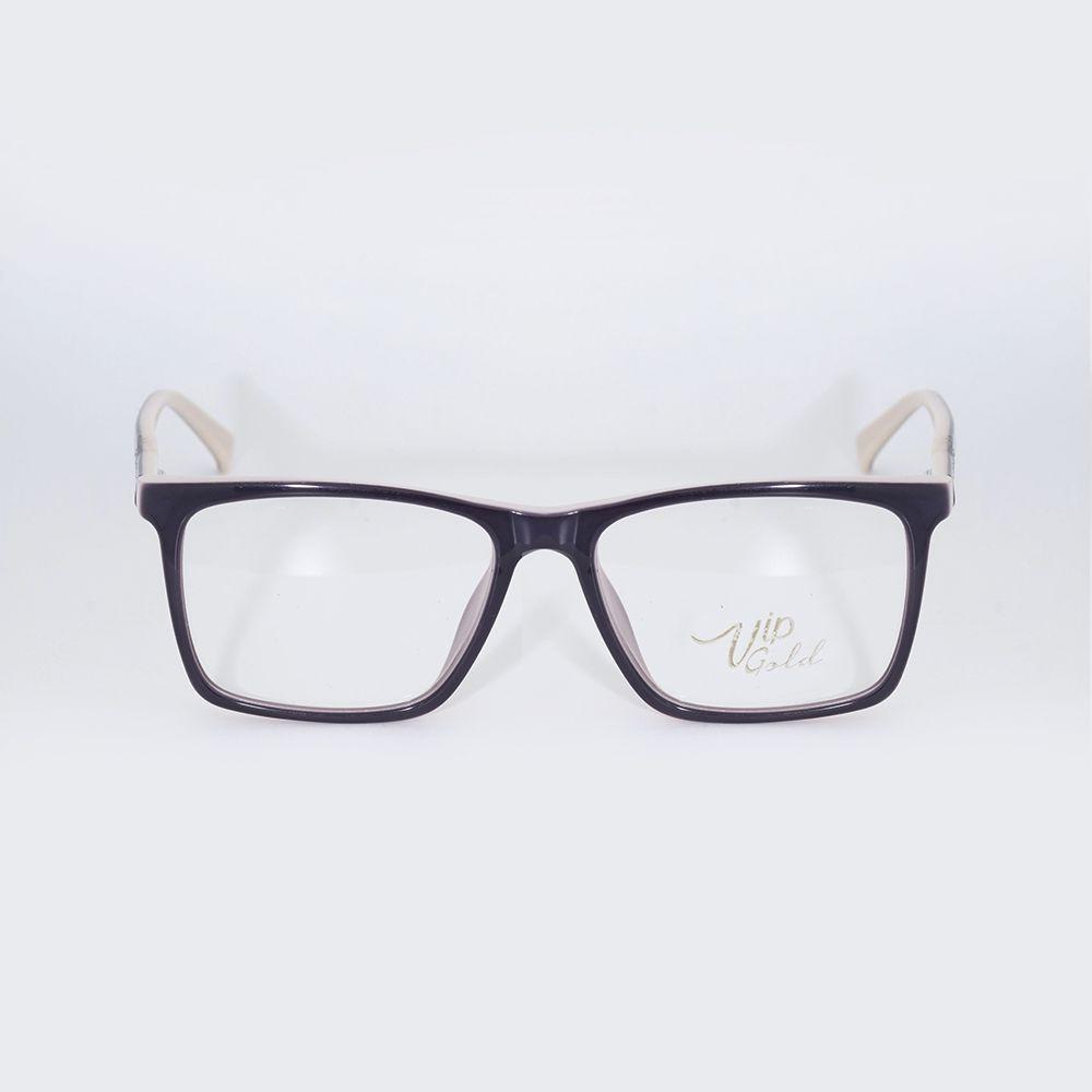 Óculos de Grau Vip Roxo e Nude 16-7032