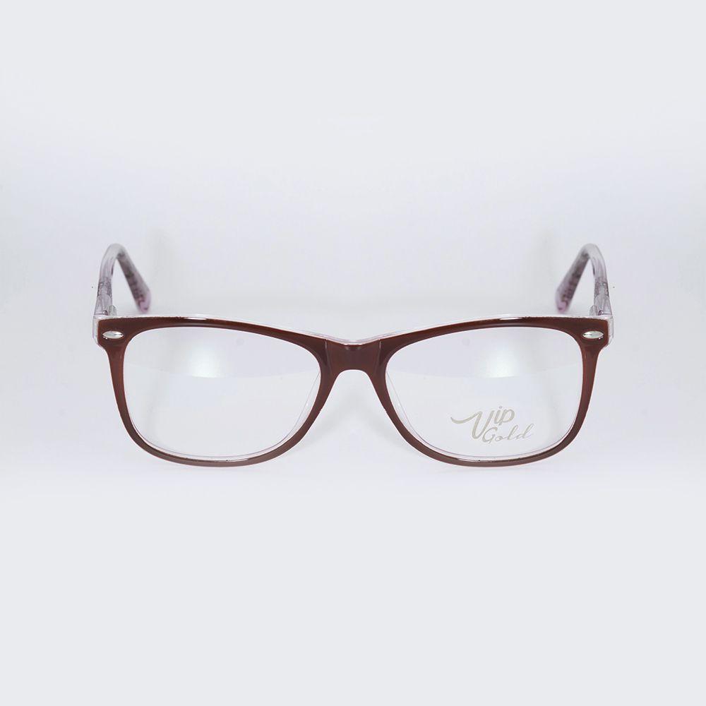 Óculos de Grau Vip Vinho Brilhante 17-098/8